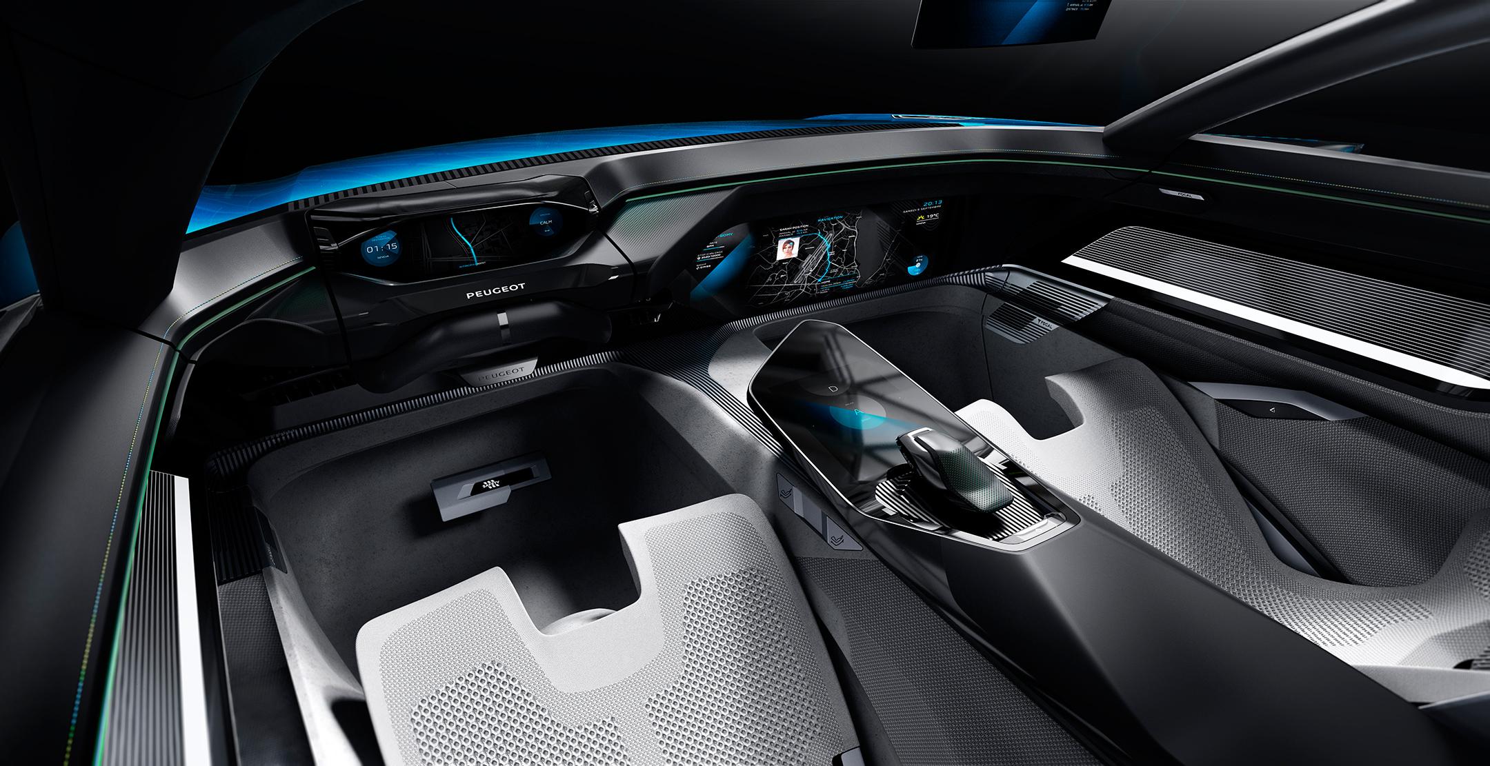 Peugeot Instinct Concept - 2017 - mode Autonomous
