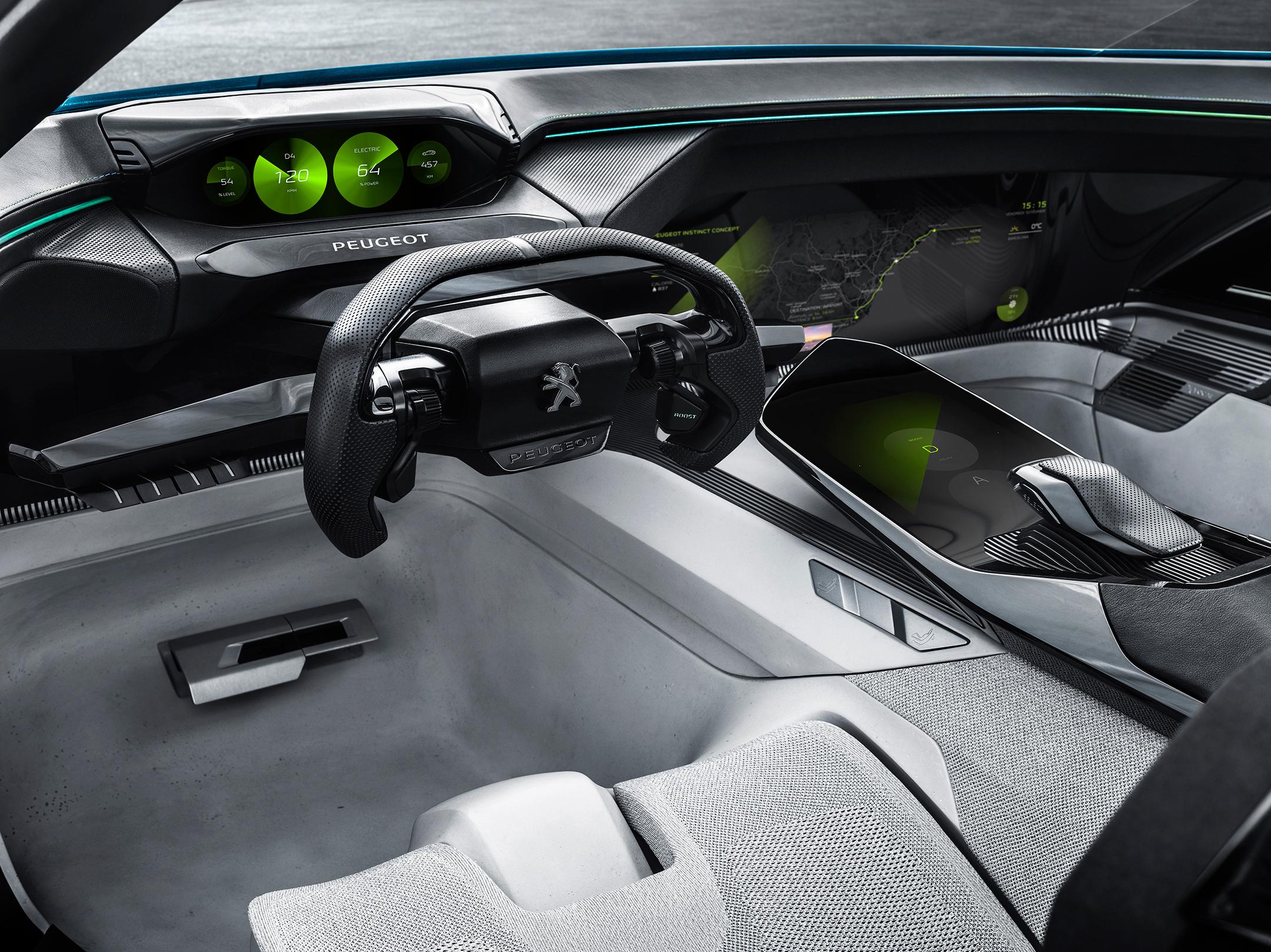 Peugeot Instinct Concept - 2017 - mode Drive