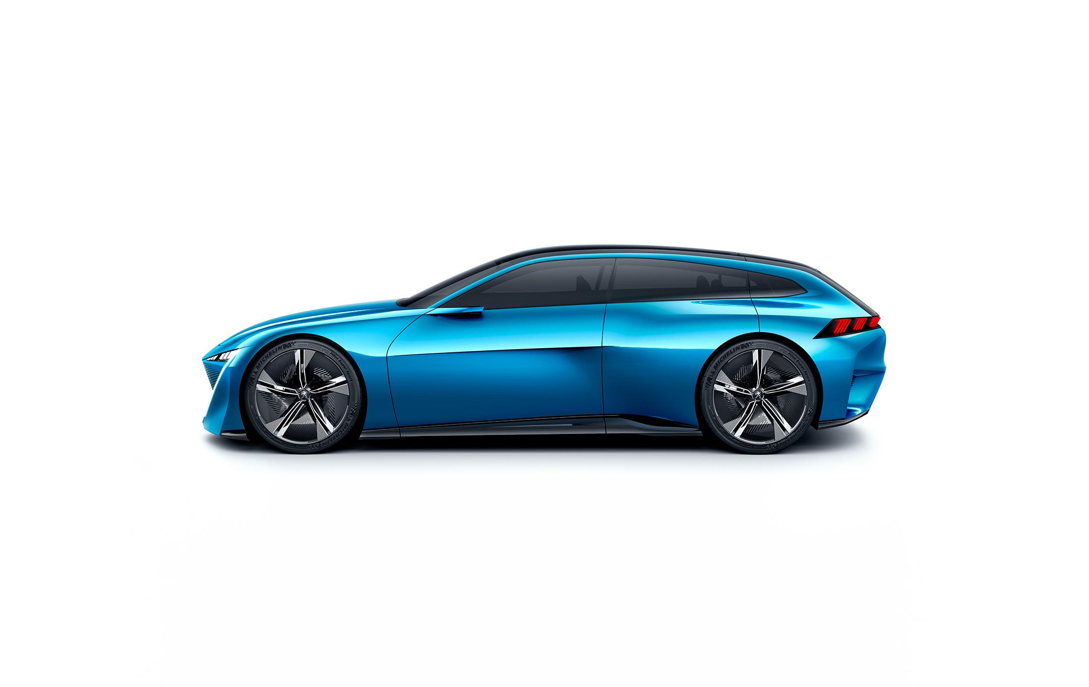 Peugeot Instinct Concept - 2017 - profil / side-face
