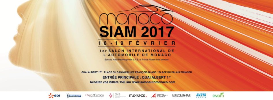 Salon International de l'Automobile de Monaco - SIAM 2017 - cover
