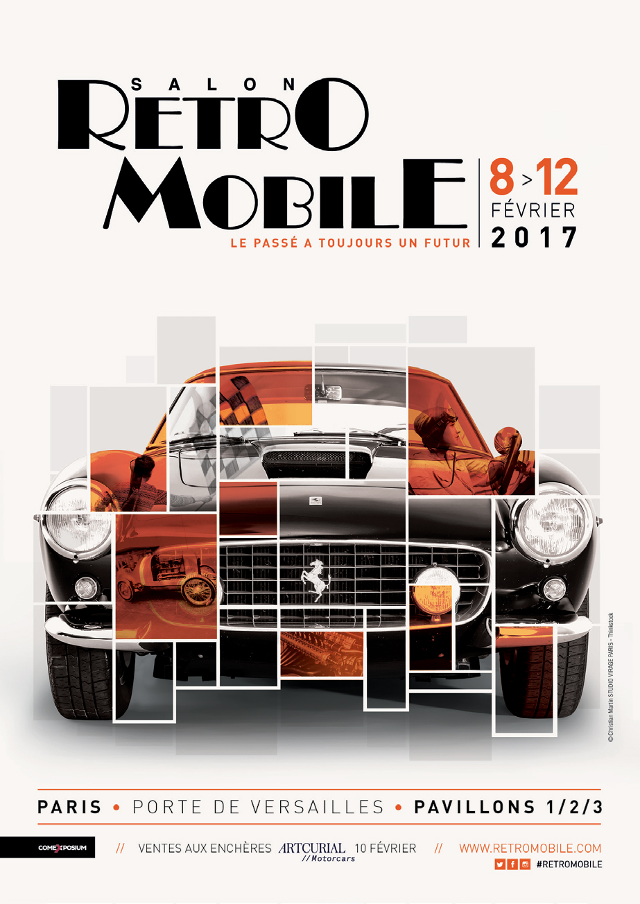 Salon Retromobile 2017 - poster