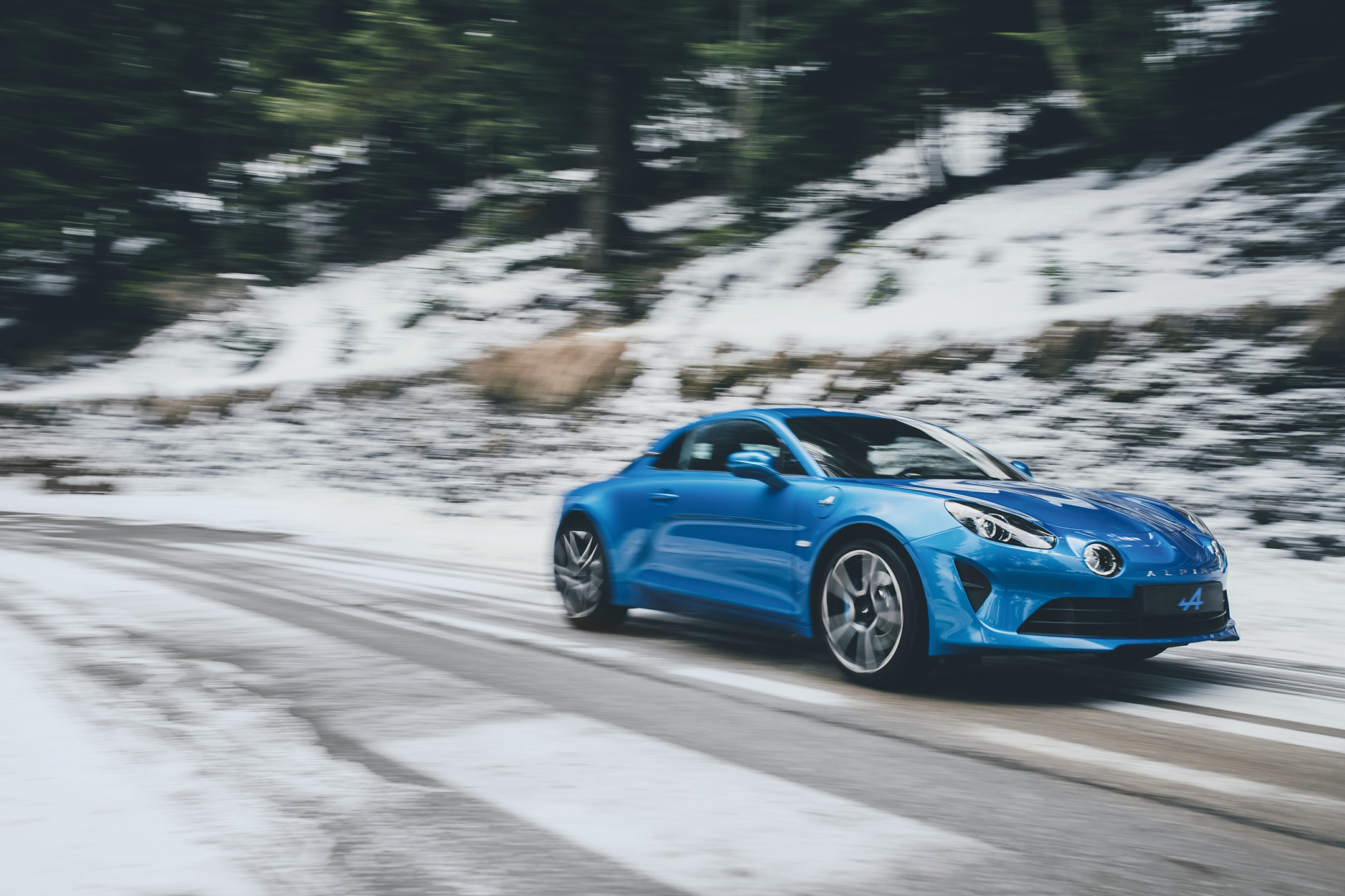 Alpine A110 - 2017 - front - photo Turini