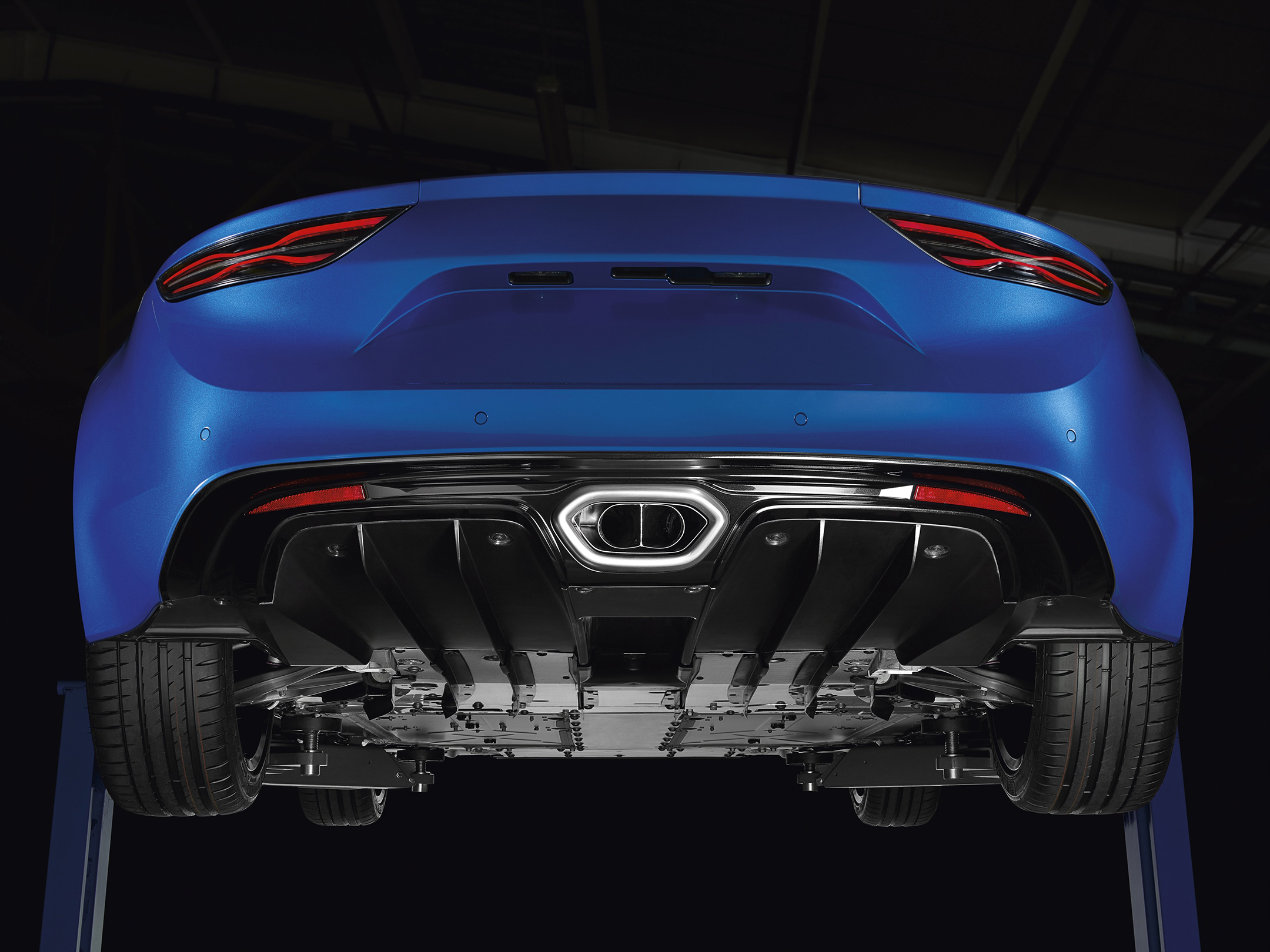 Alpine A110 - 2017 - rear mechanic