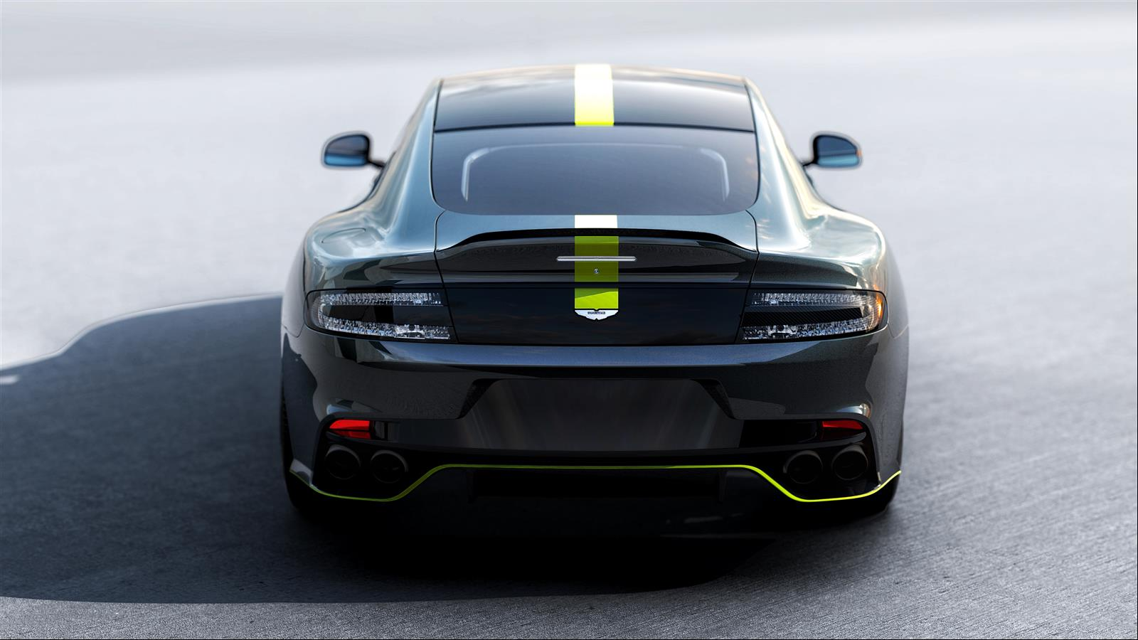 Aston Martin Rapide AMR - 2017 - rear face