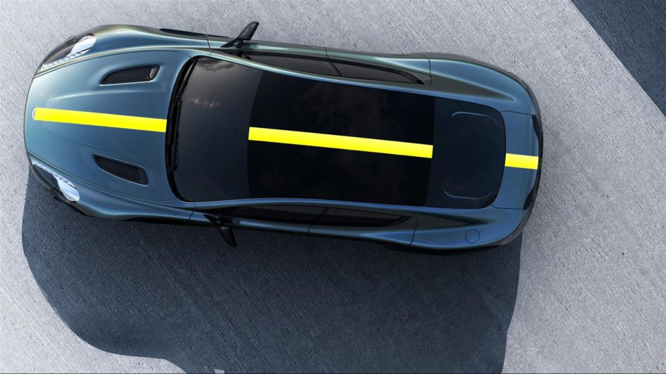Aston Martin Rapide AMR - 2017 - top view