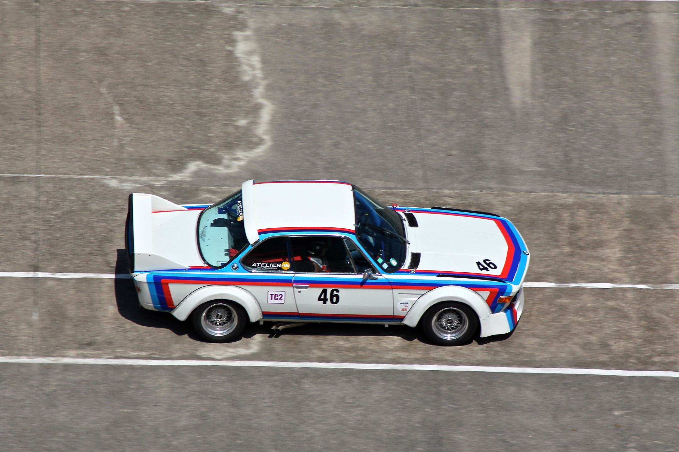 BMW 3.0 CSL - front / avant - Coupes de Printemps 2017 - photo Ludo Ferrari