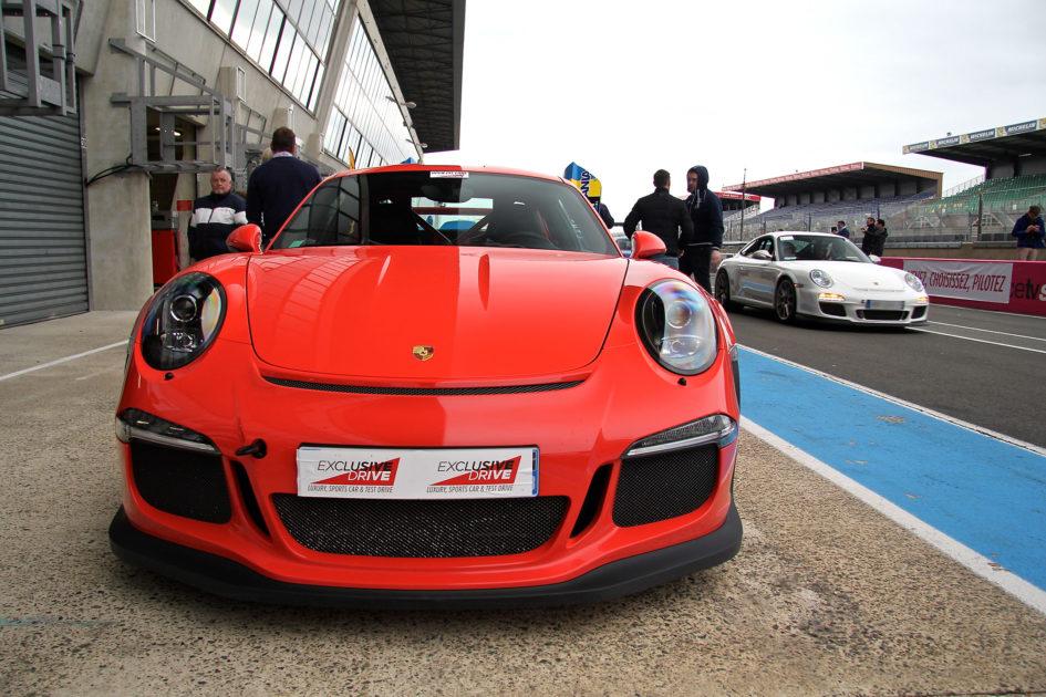 Porsche - red face - Pitlane circuit Bugatti - Exclusive Drive 2017 - photo Ludo Ferrari