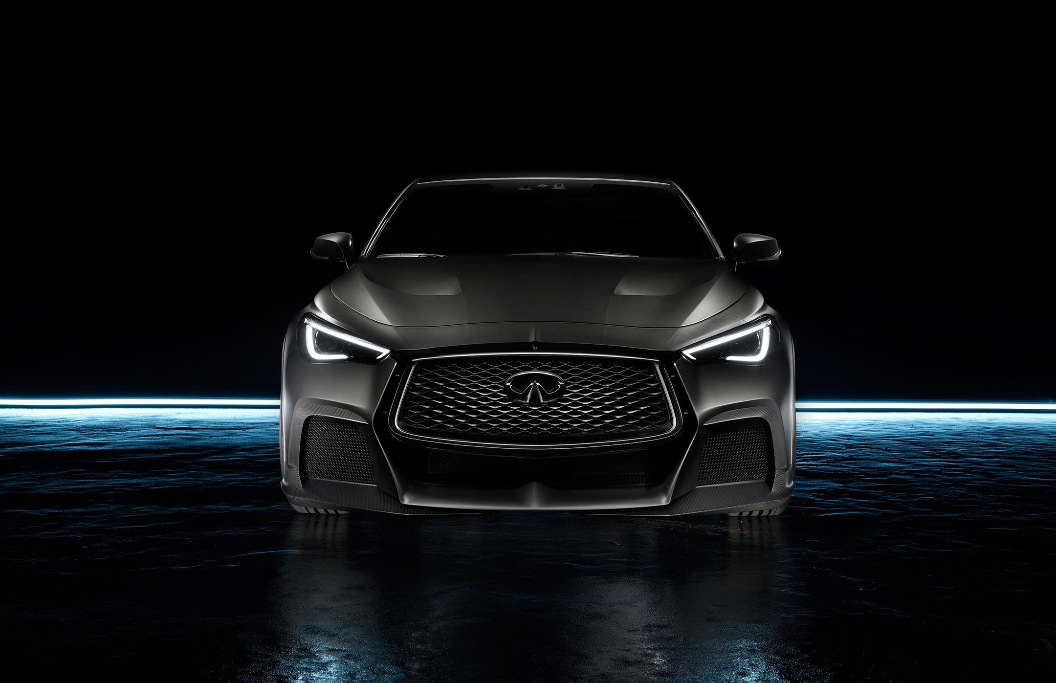 INFINITI Project Black S - 2017 - front-face light