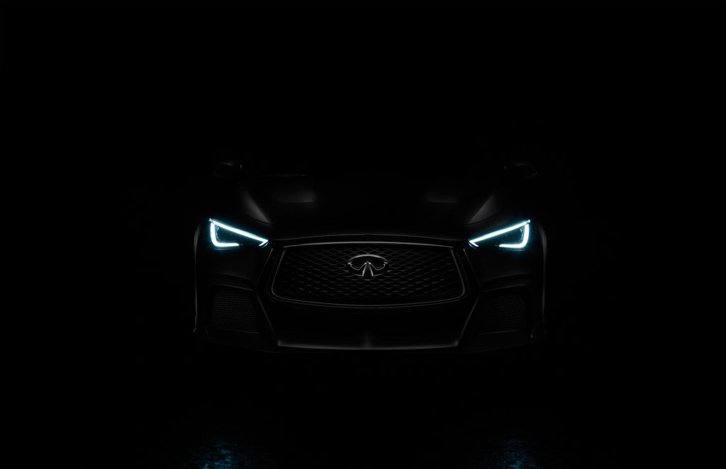INFINITI Project Black S - 2017 - front light - Teaser