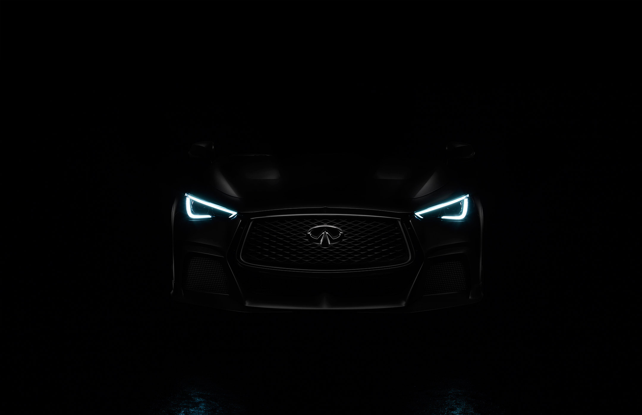 INFINITI Project Black S - 2017 - front light - Teaser