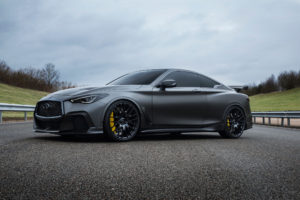 INFINITI Project Black S - 2017 - front side-face road