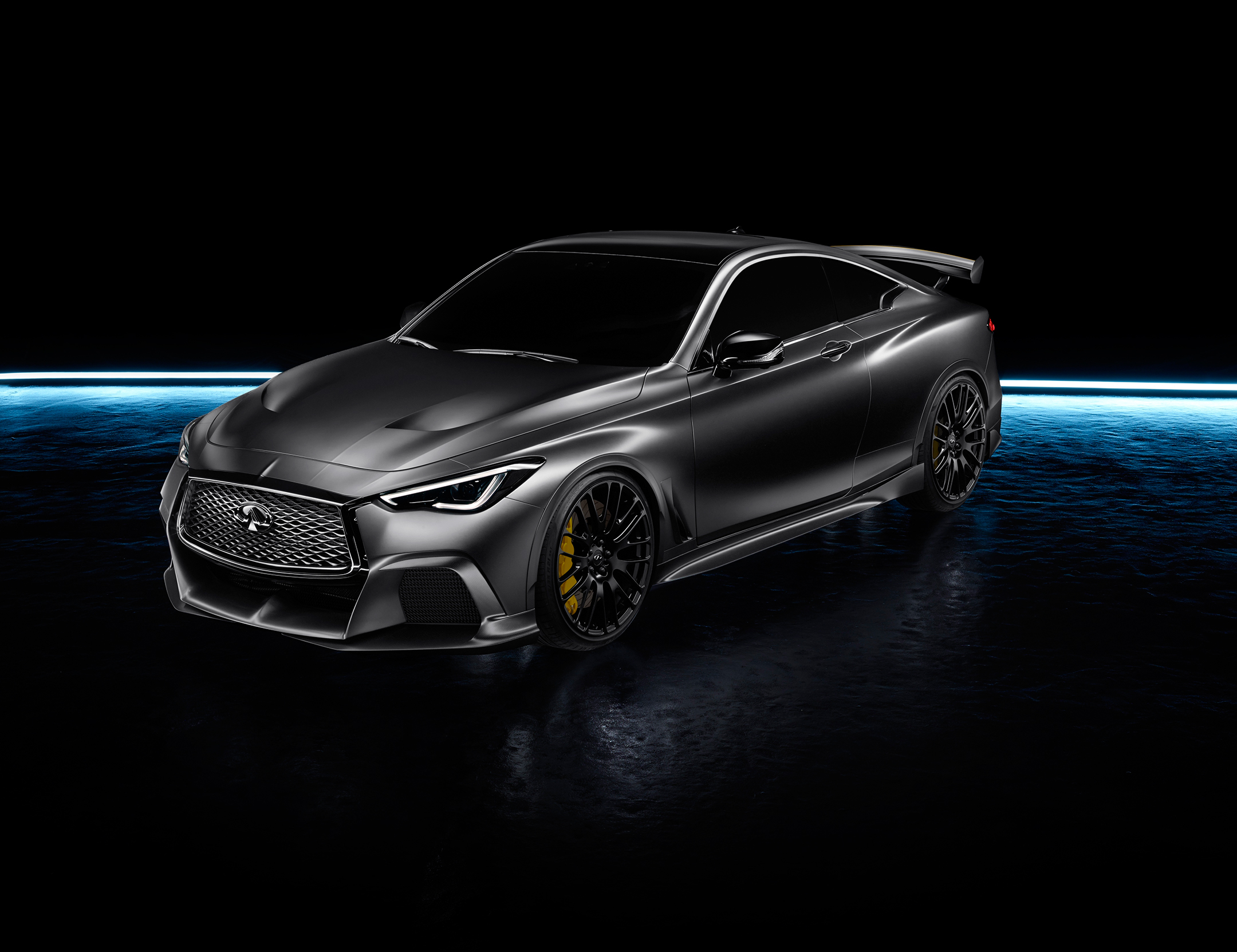 INFINITI Project Black S - 2017 - front side-face / profil avant