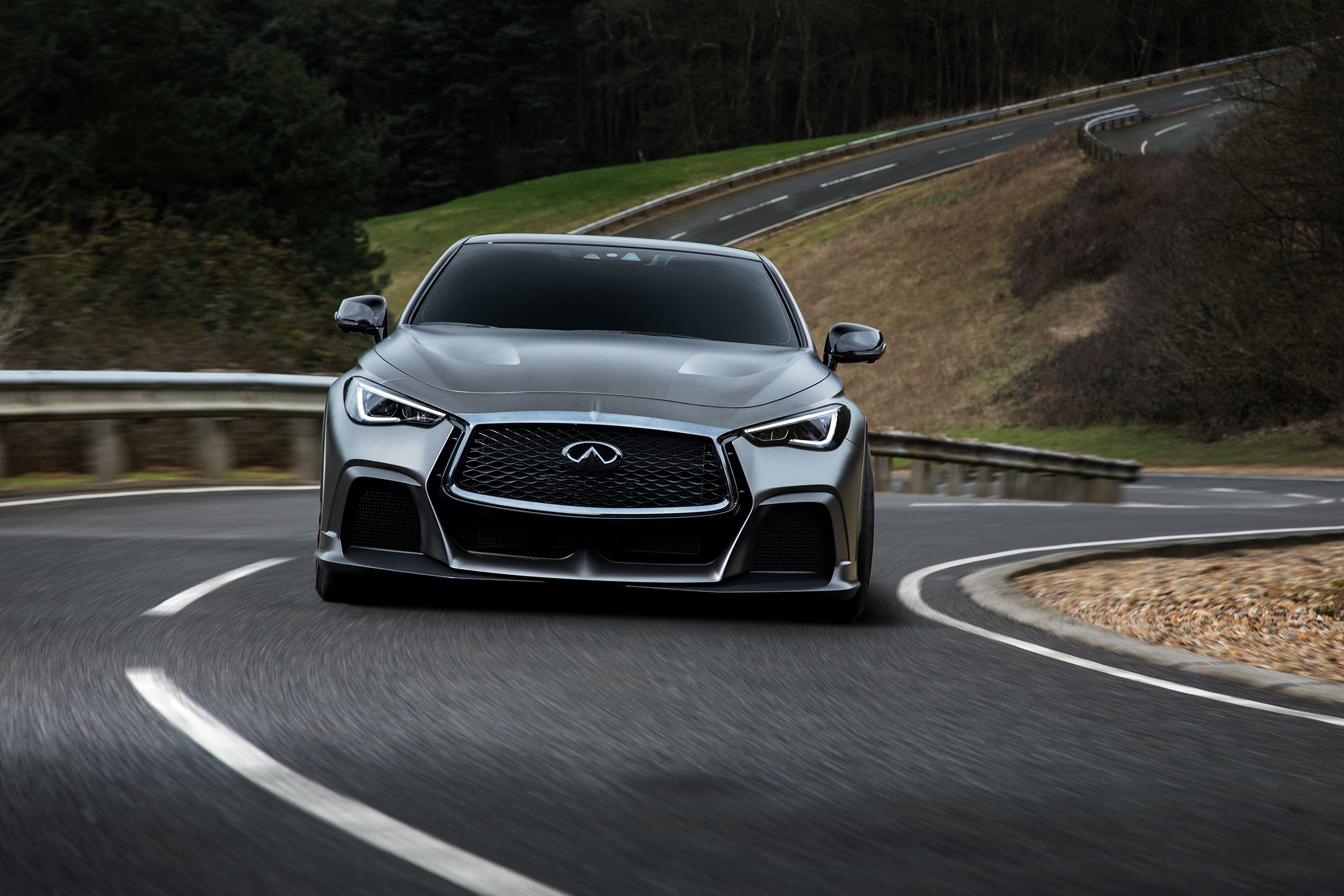 INFINITI Project Black S - 2017 - front-face road