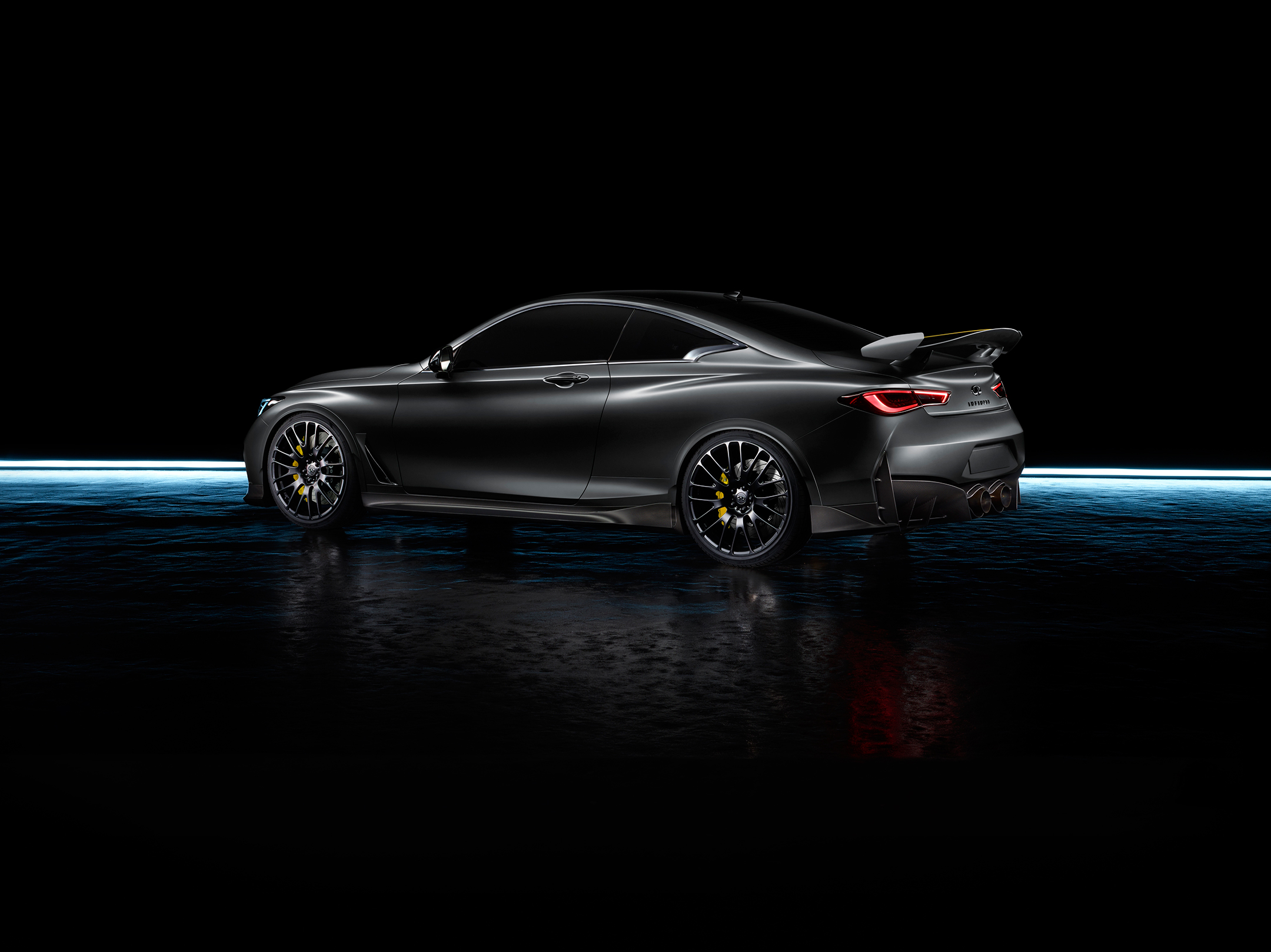 INFINITI Project Black S - 2017 - rear side-face / profil arrière