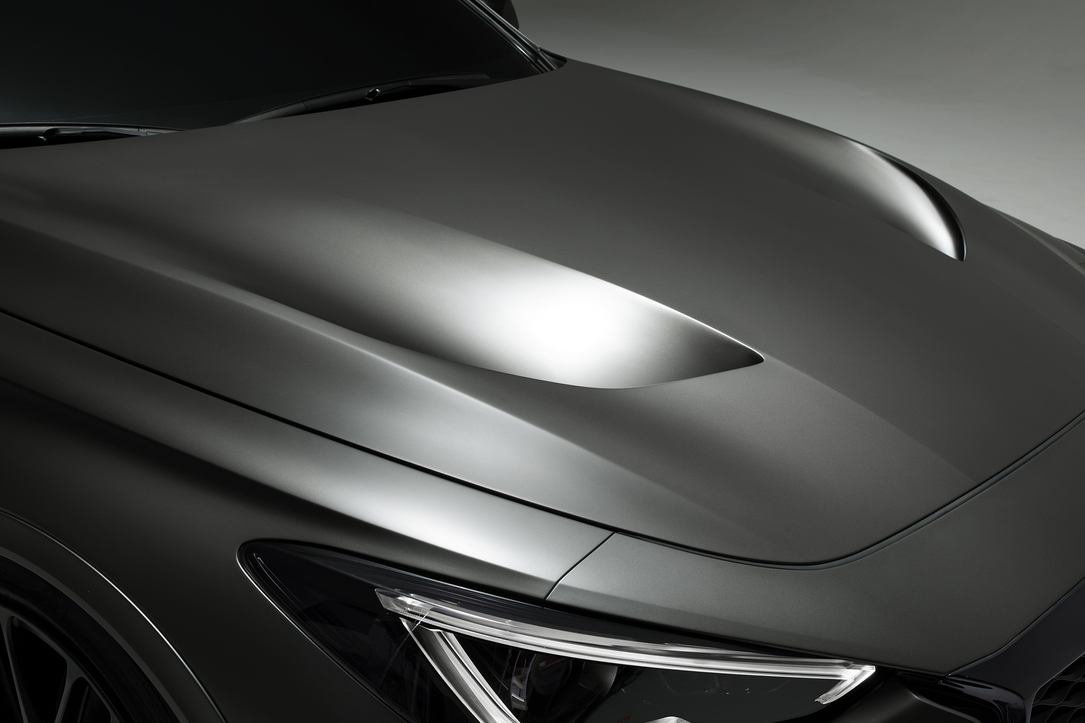 INFINITI Project Black S - 2017 - top hood