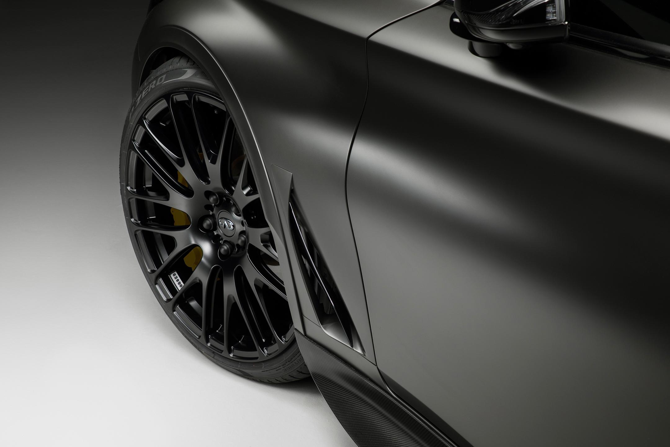 INFINITI Project Black S - 2017 - front wheel