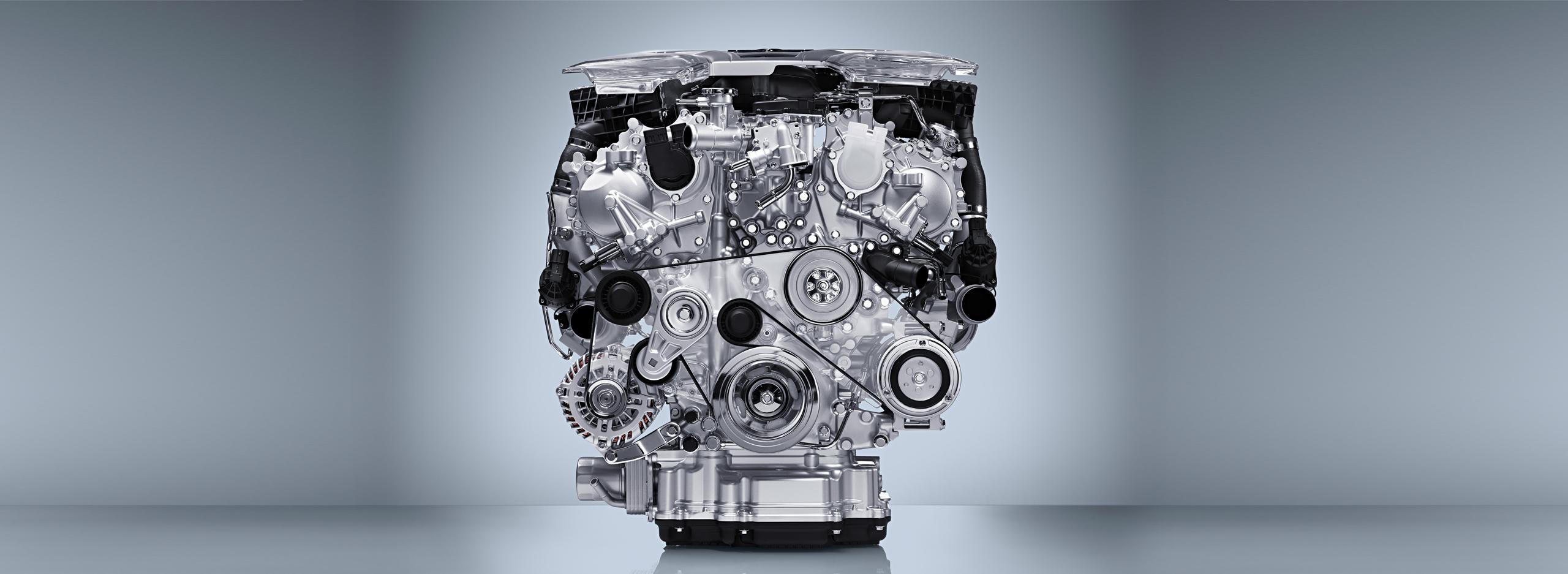 Infiniti Q60 V6 - engine / moteur - VR30DDTT