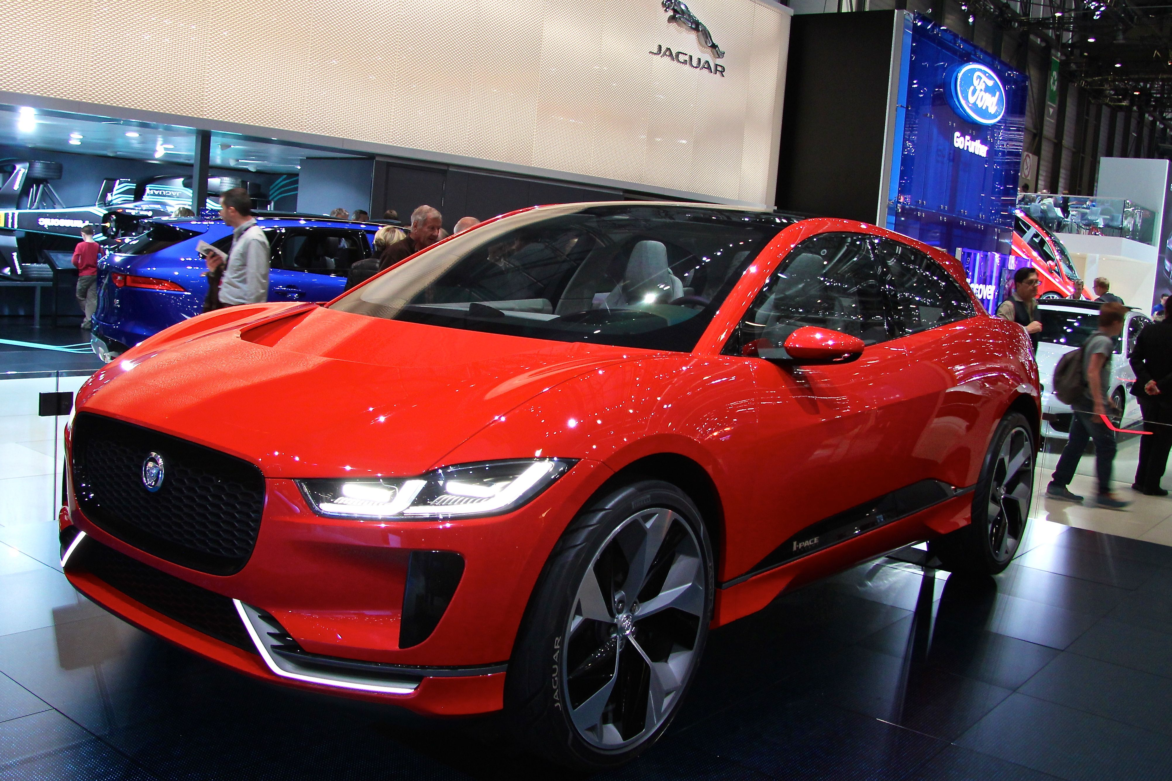 Jaguar I-PACE - Geneva - 2017 - photo - Ludo Ferrari