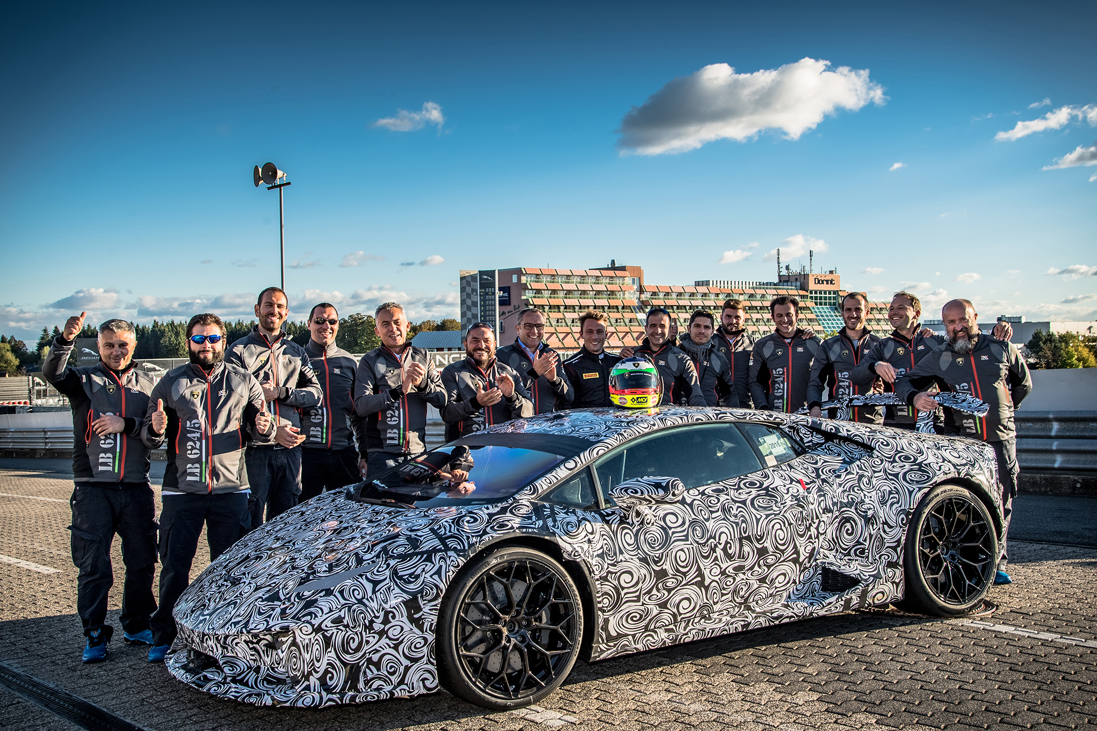 Lamborghini Huracan-Performante - Team track - Nürburgring - photo