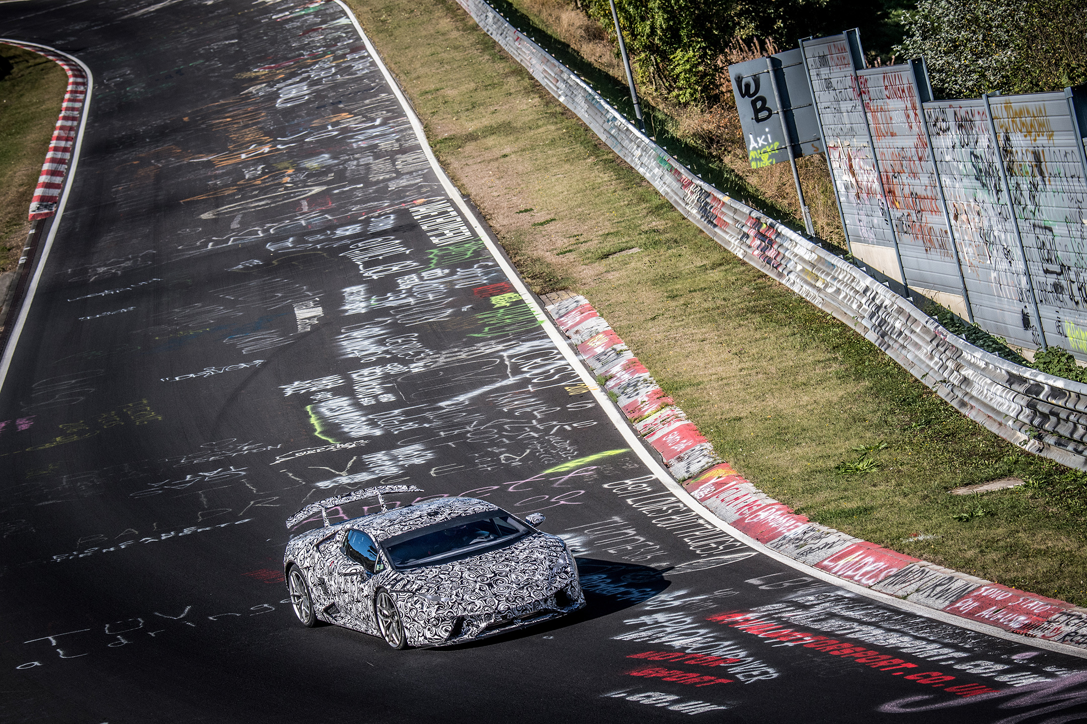 Lamborghini Huracan-Performante - front track - Nürburgring - photo