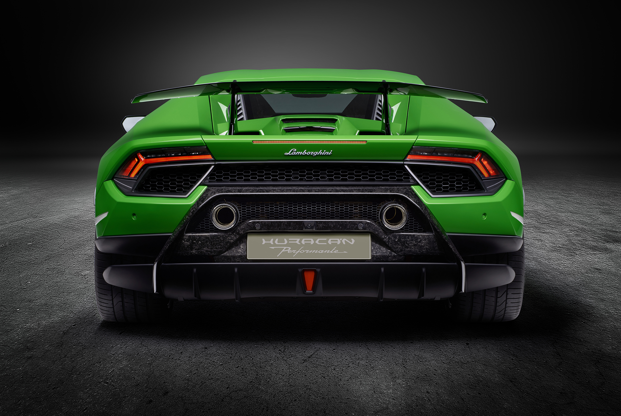 Lamborghini Huracan-Performante - 2017 - rear face