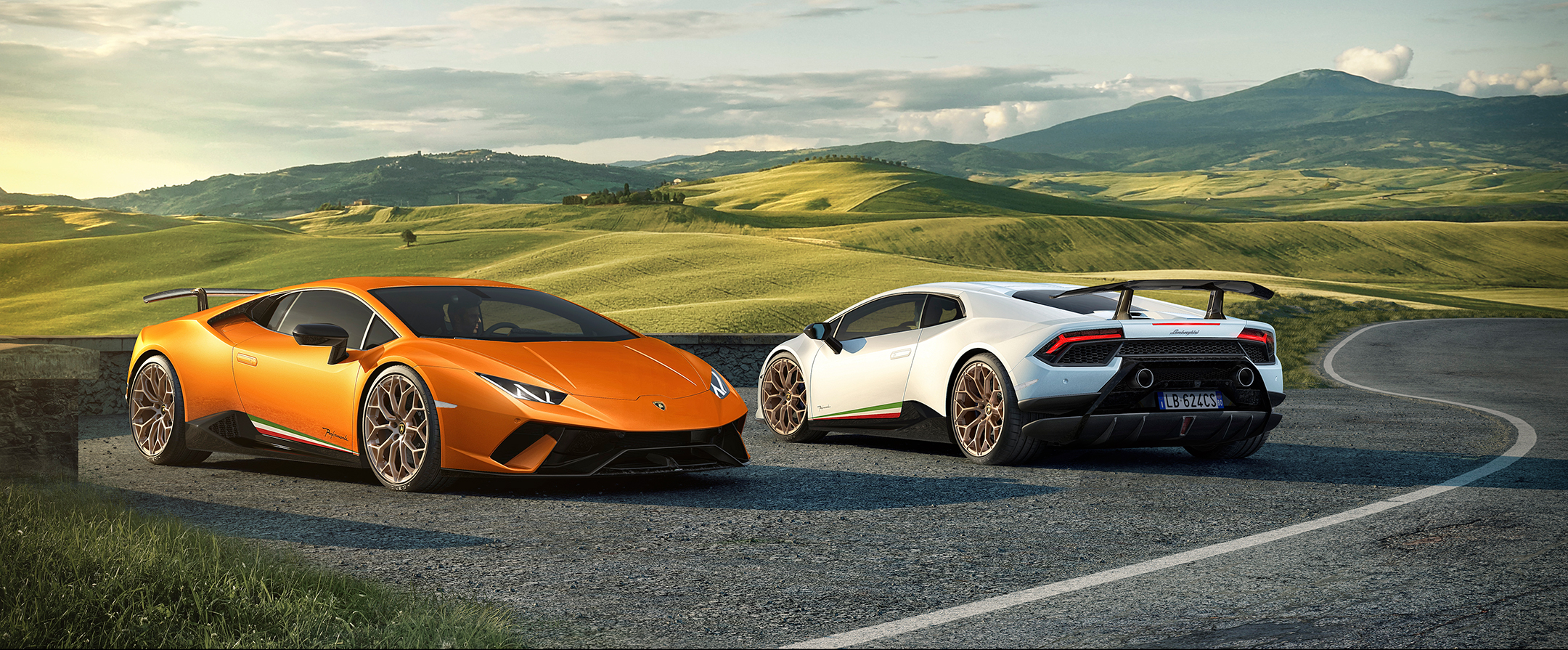 Lamborghini Huracan-Performante - 2017 - side by side