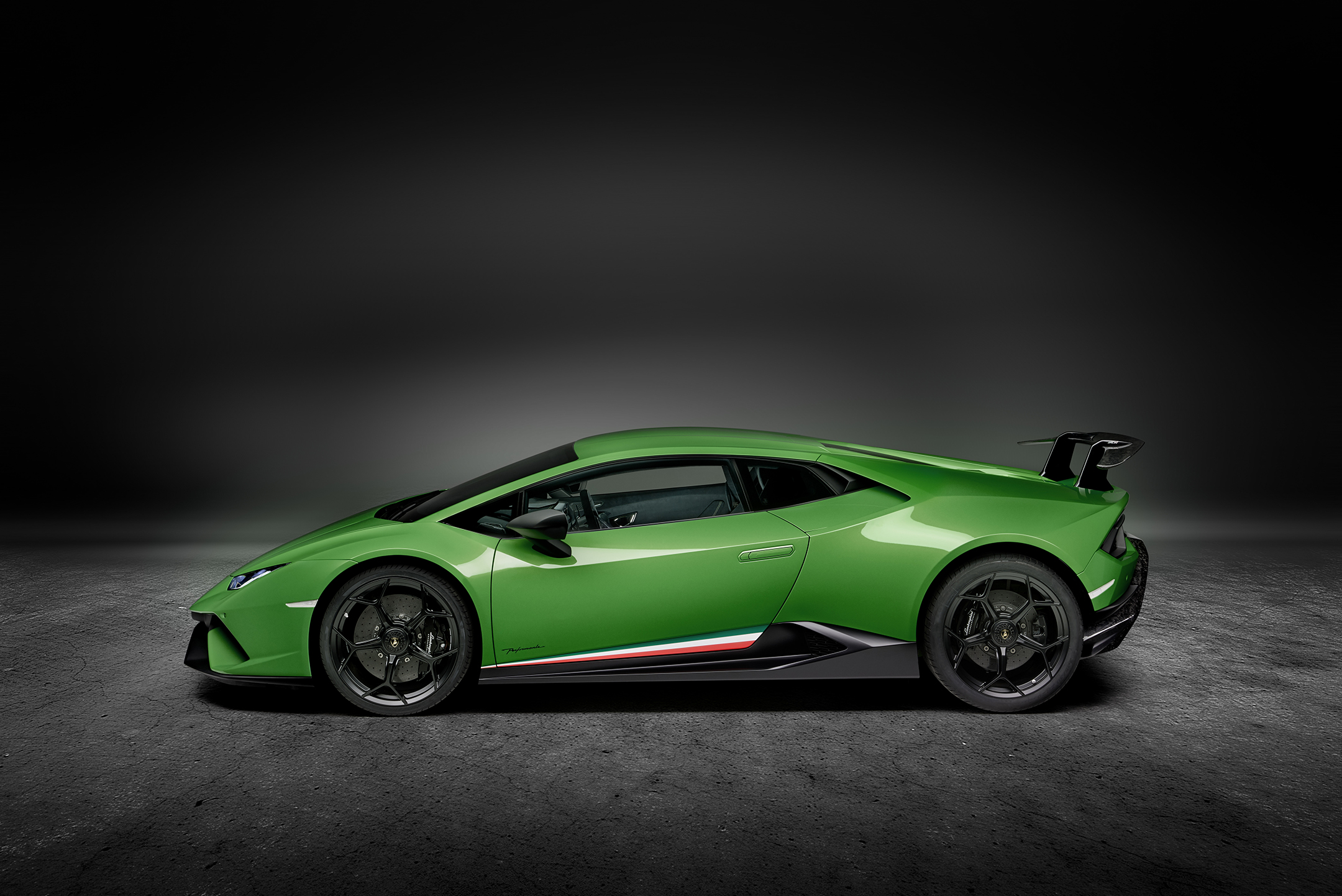 Lamborghini Huracan-Performante - 2017 - side-face