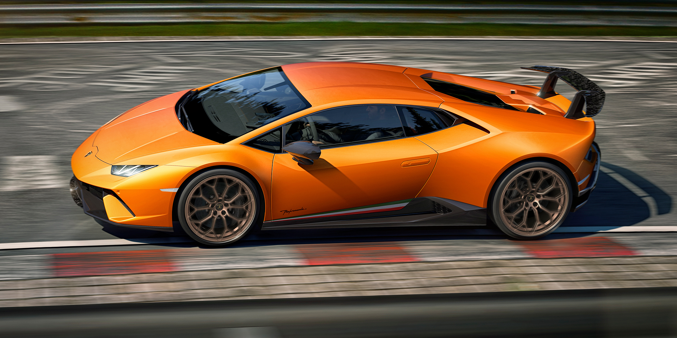 lamborghini huracan performante 2017 side face speed