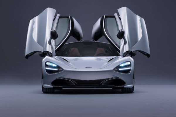 McLaren 720S - 2017 - front - open doors