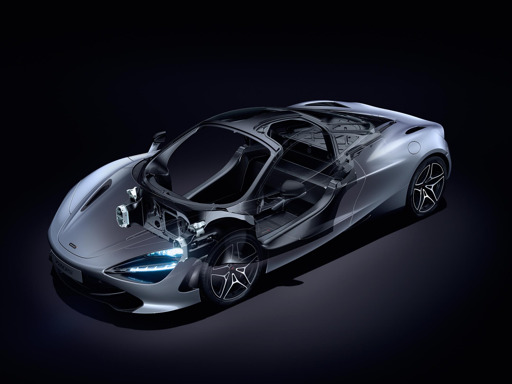 McLaren 720S - 2017 - chassis