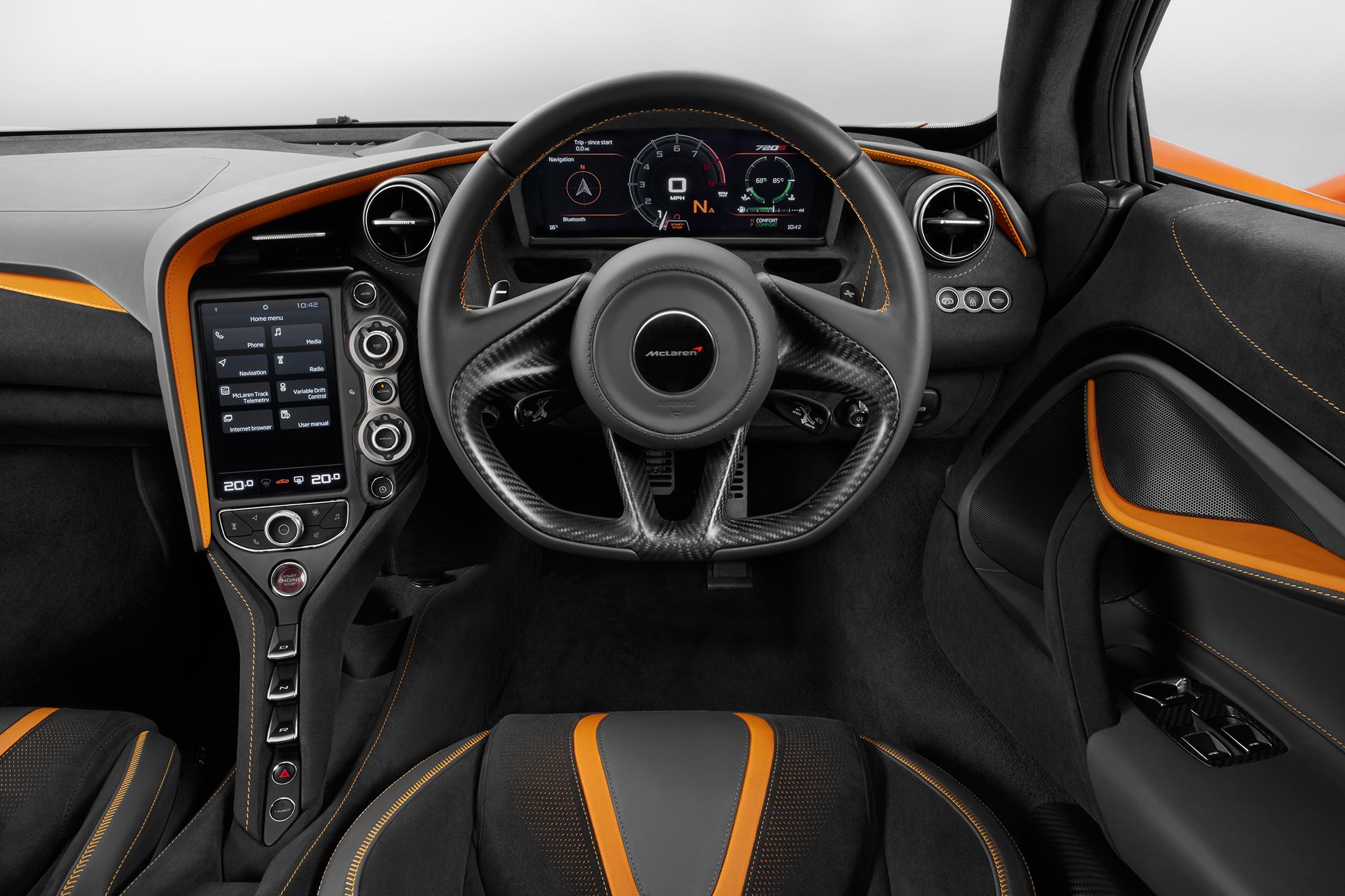 McLaren 720S - 2017 - interior / intérieur