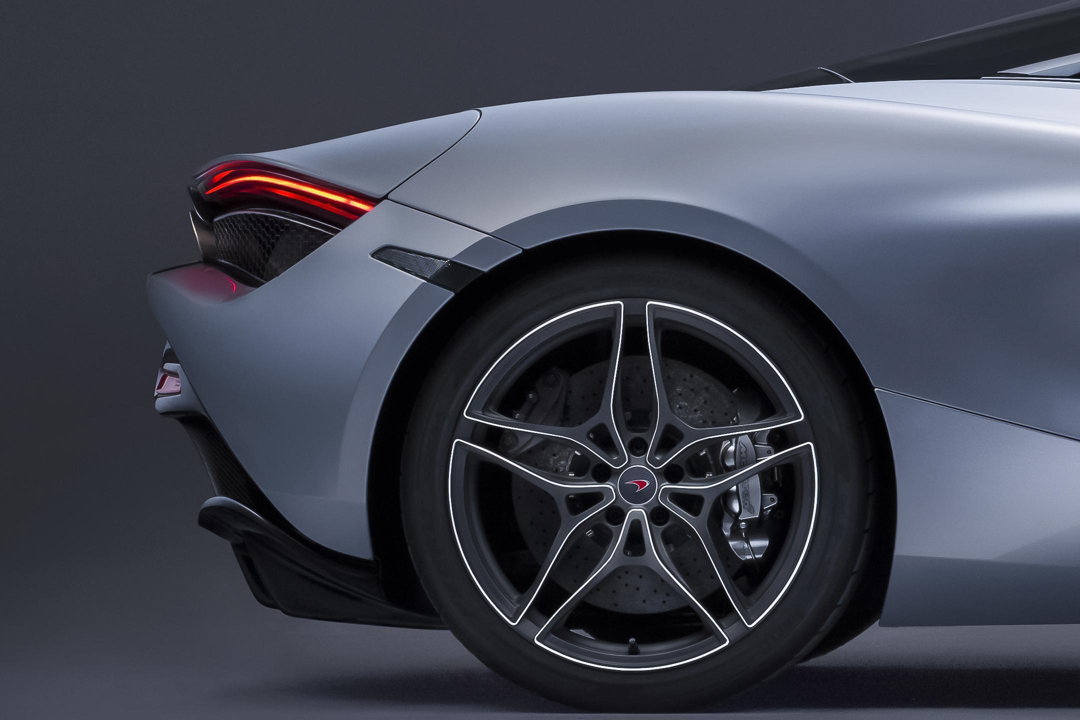 McLaren 720S - 2017 - rear wheel / jante roue arrière