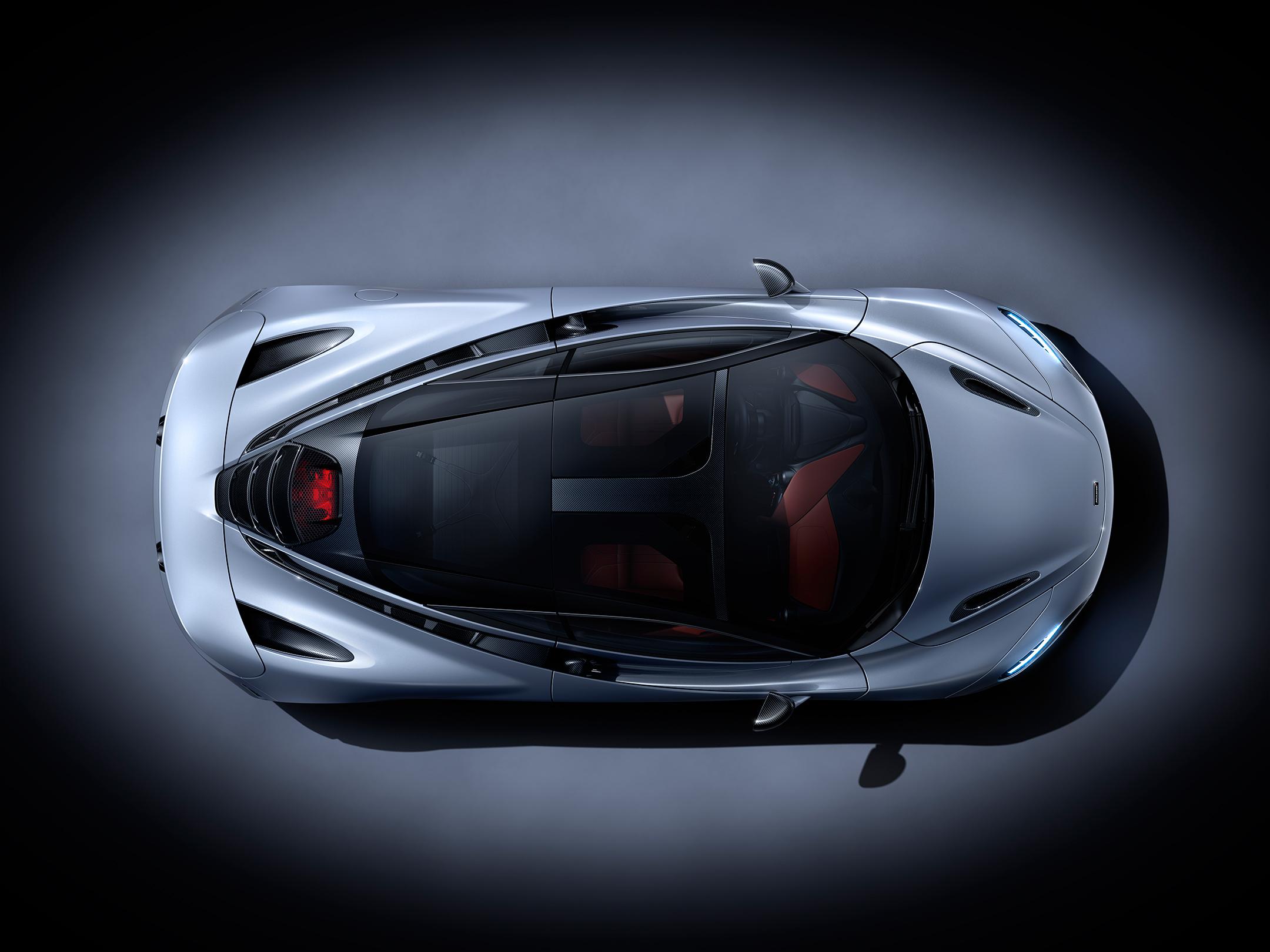 McLaren 720S - 2017 - top view / vue toit