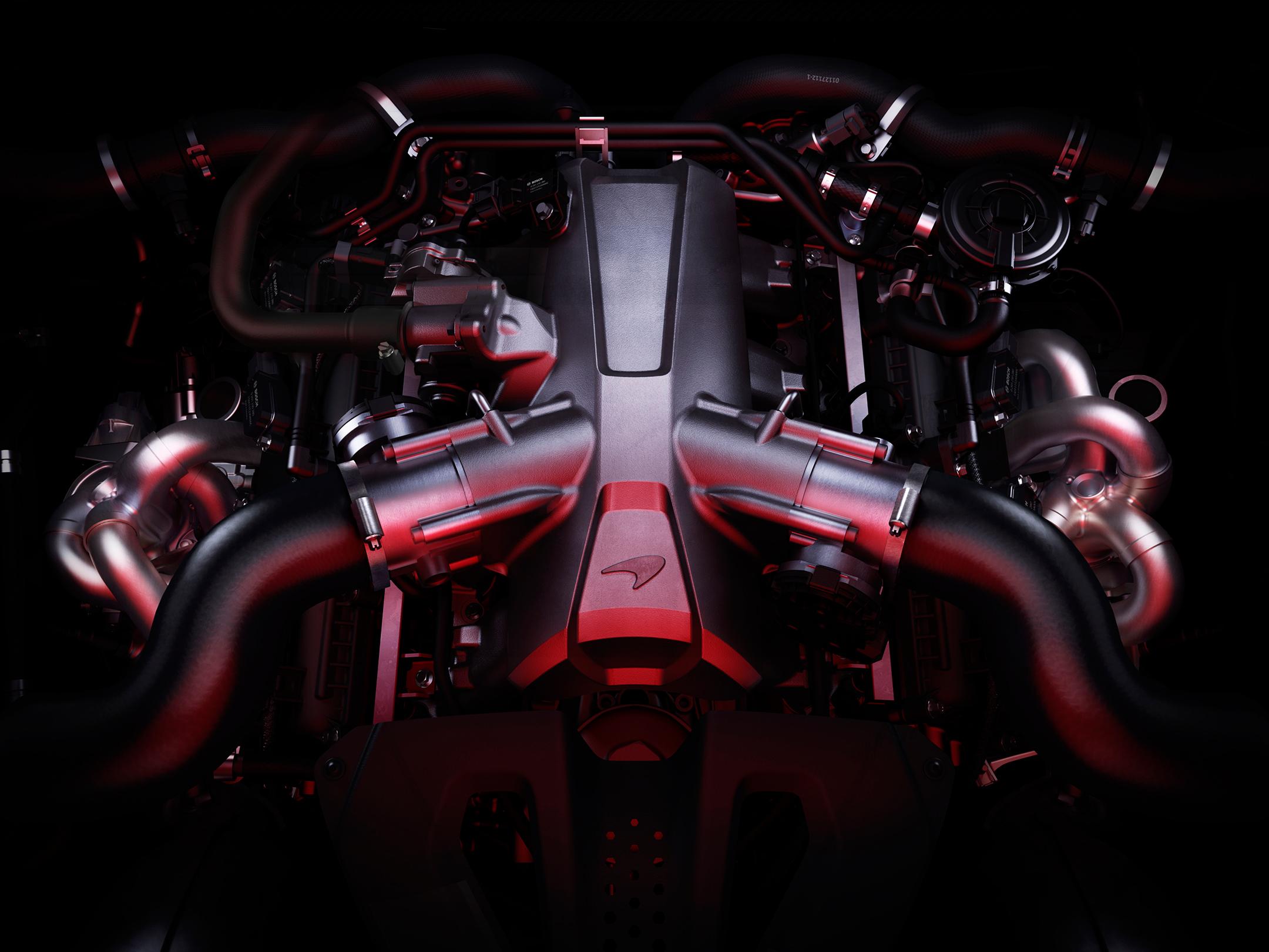 McLaren 720S - 2017 - M840T - engine V8 4.0L