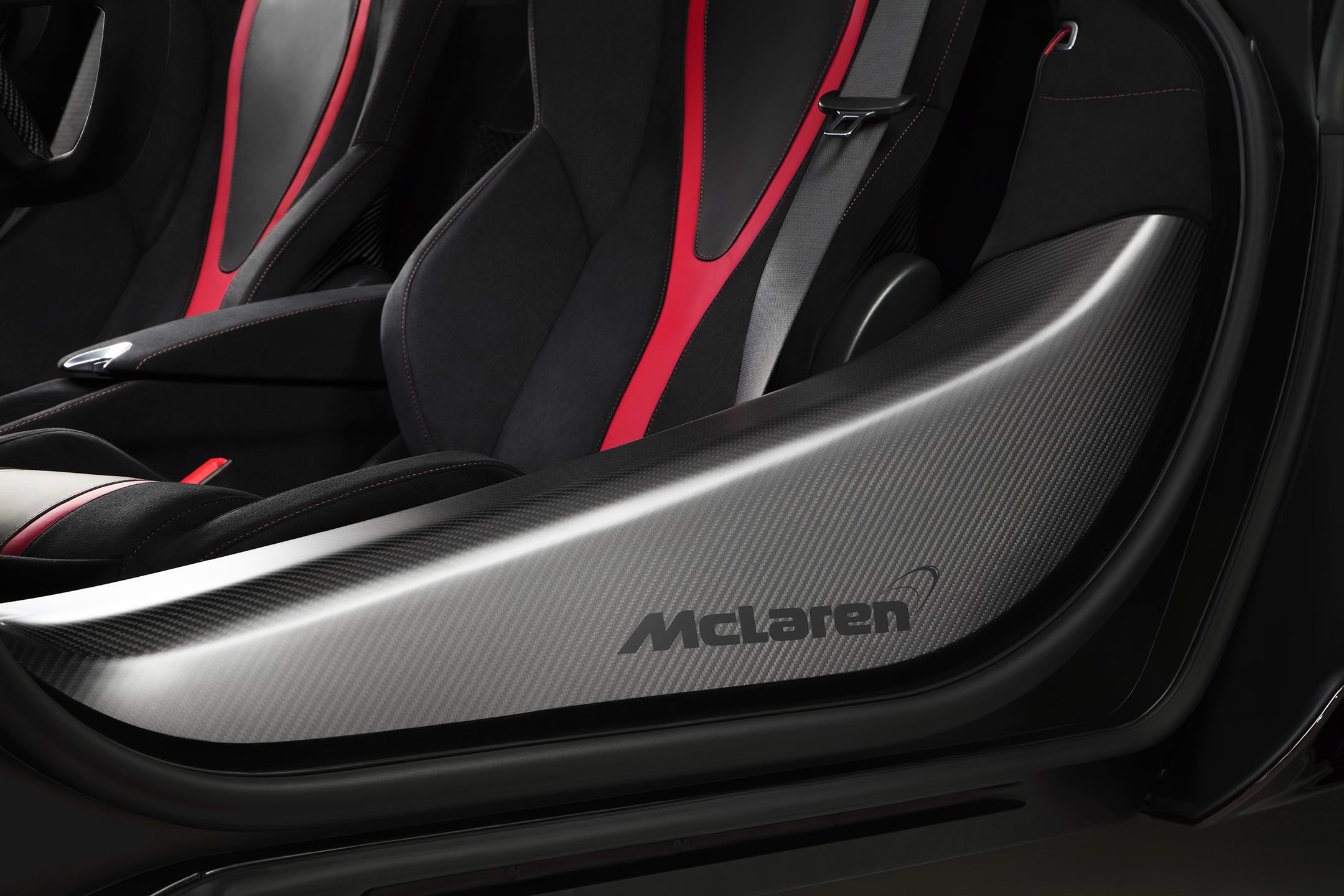McLaren 720S MSO Velocity - 2017 - seats / sièges