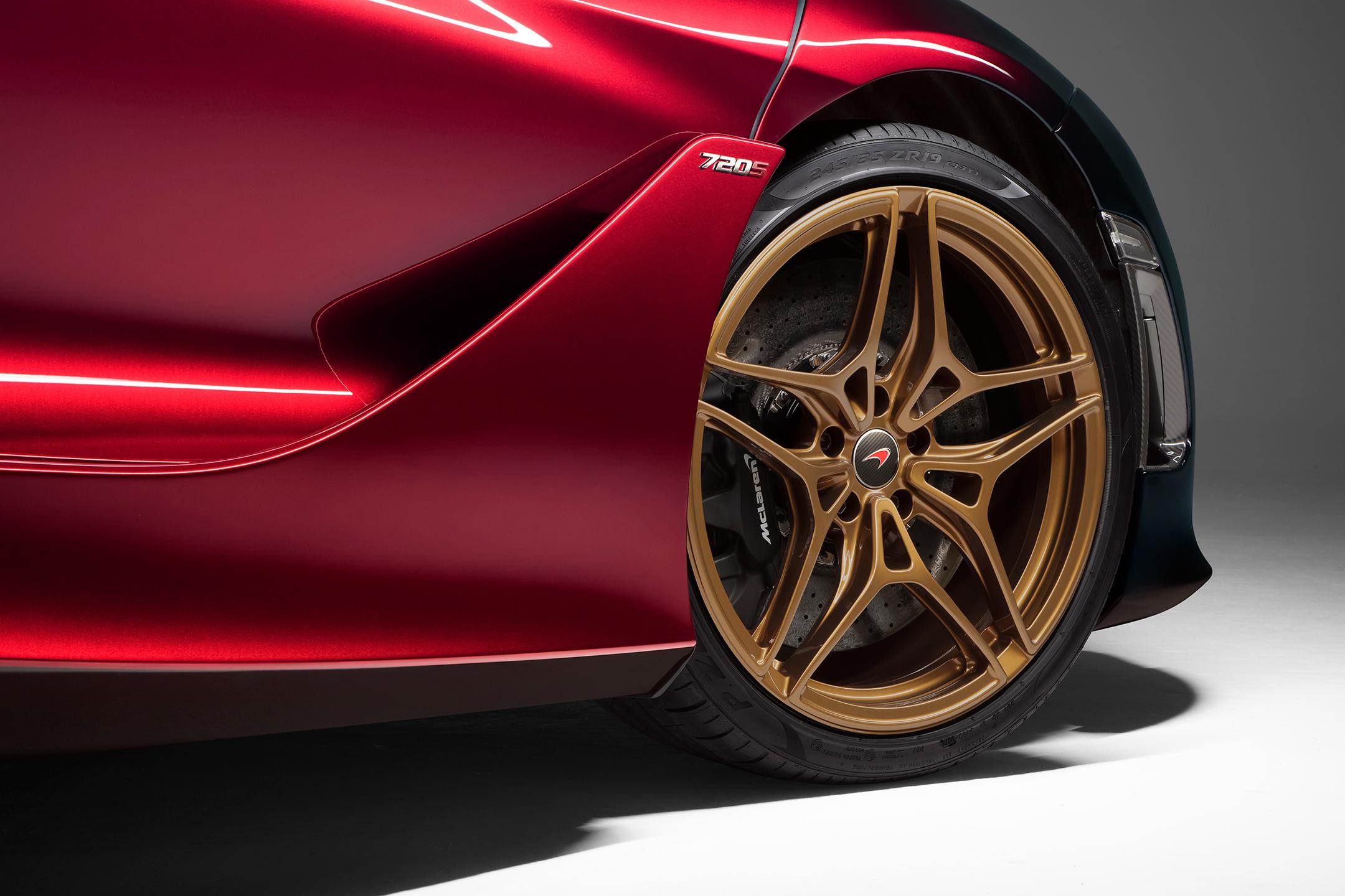 McLaren 720S MSO Velocity - 2017 - wheel / jante - bronze
