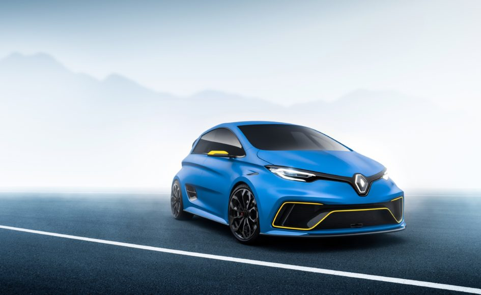 Renault ZOE e-Sport Concept - 2017 - speed side-face