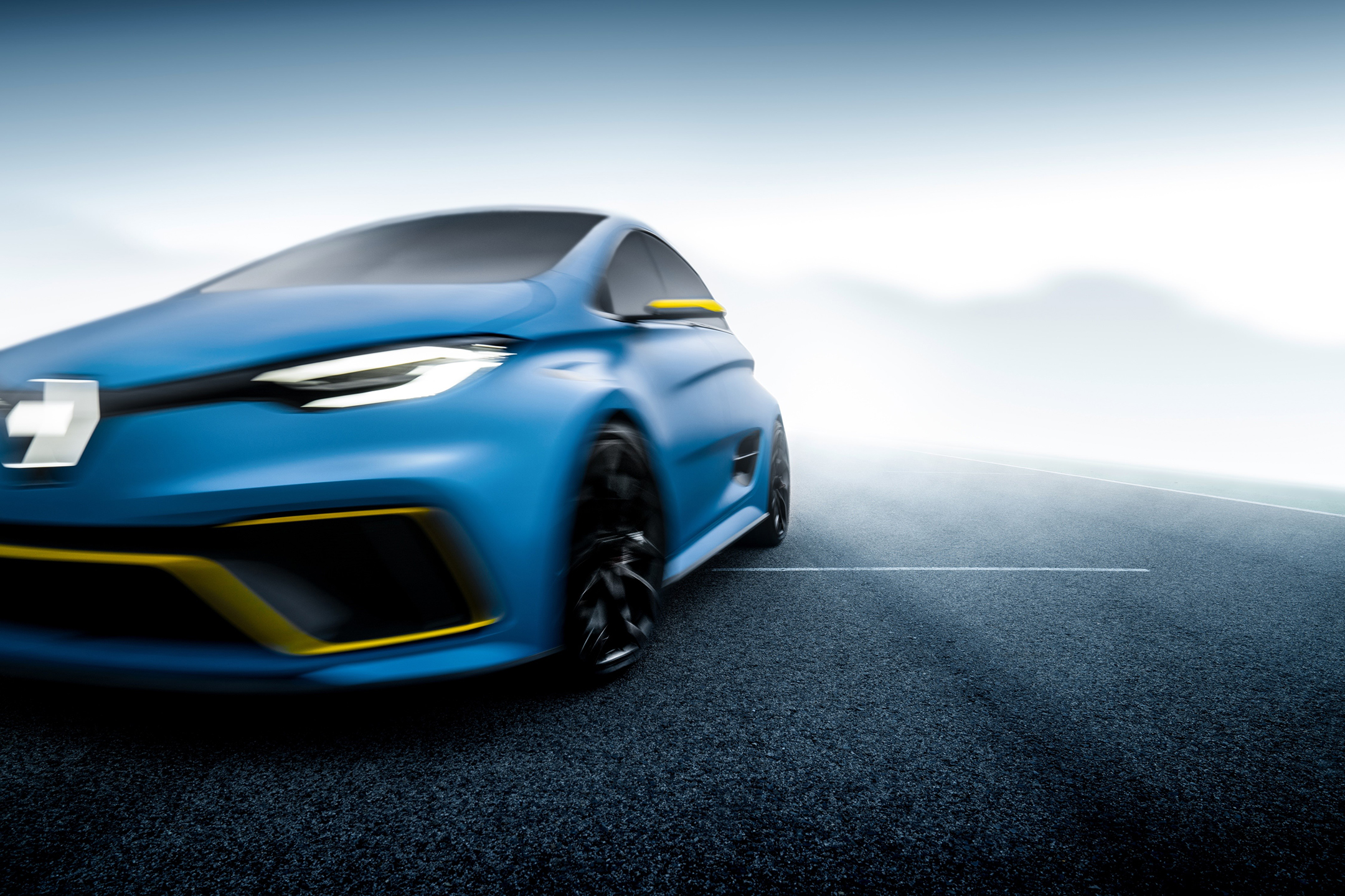 Renault ZOE e-Sport Concept - 2017 - front speed light
