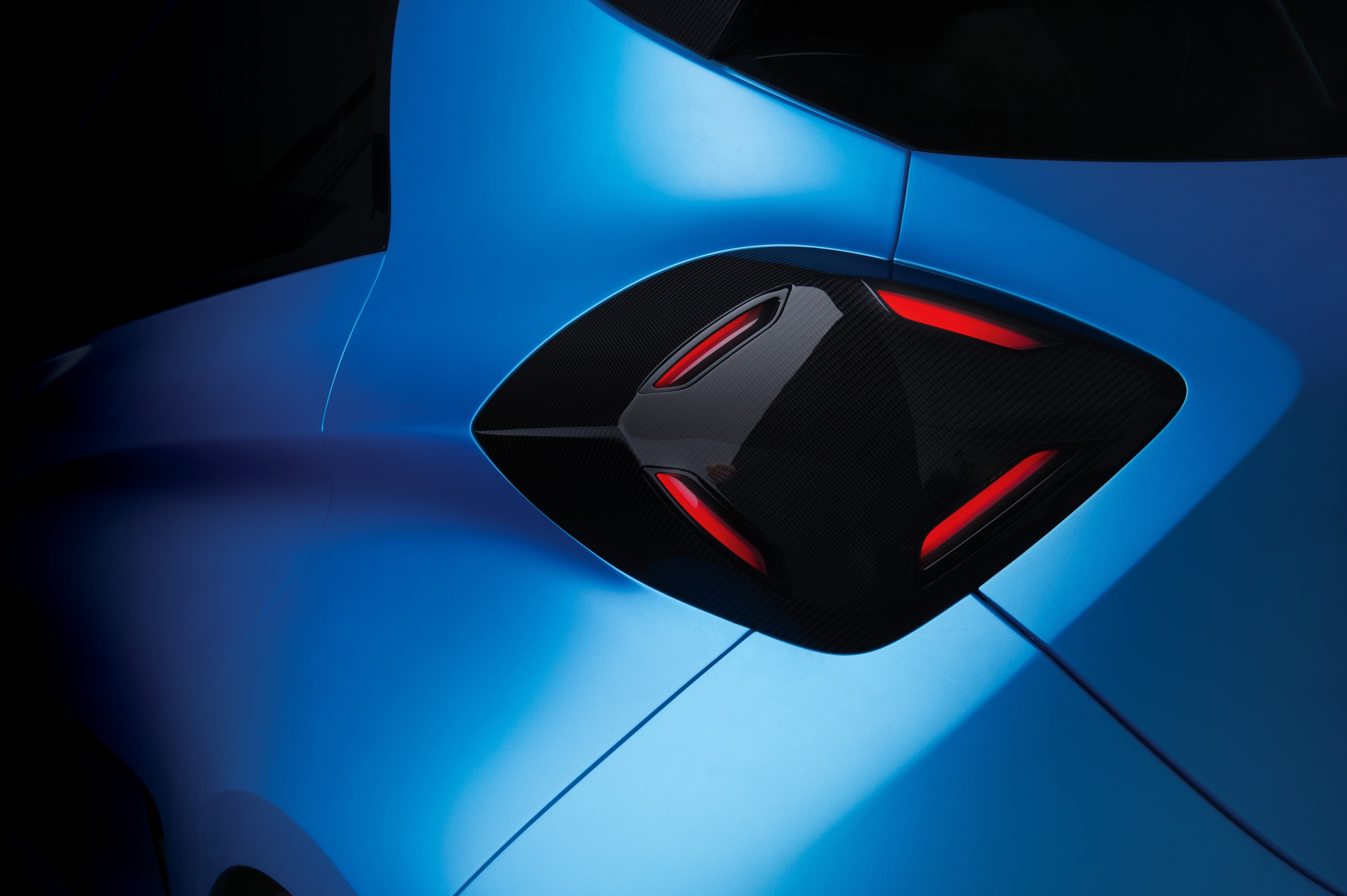 Renault ZOE e-Sport Concept - 2017 - rear light