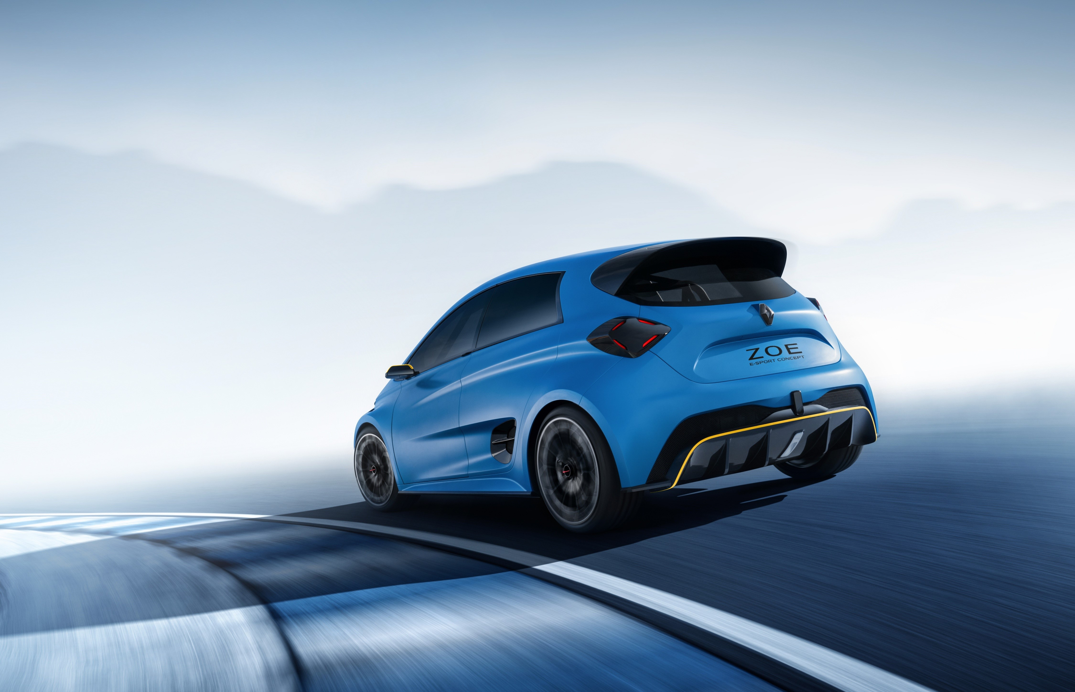Renault ZOE e-Sport Concept - 2017 - rear side-face