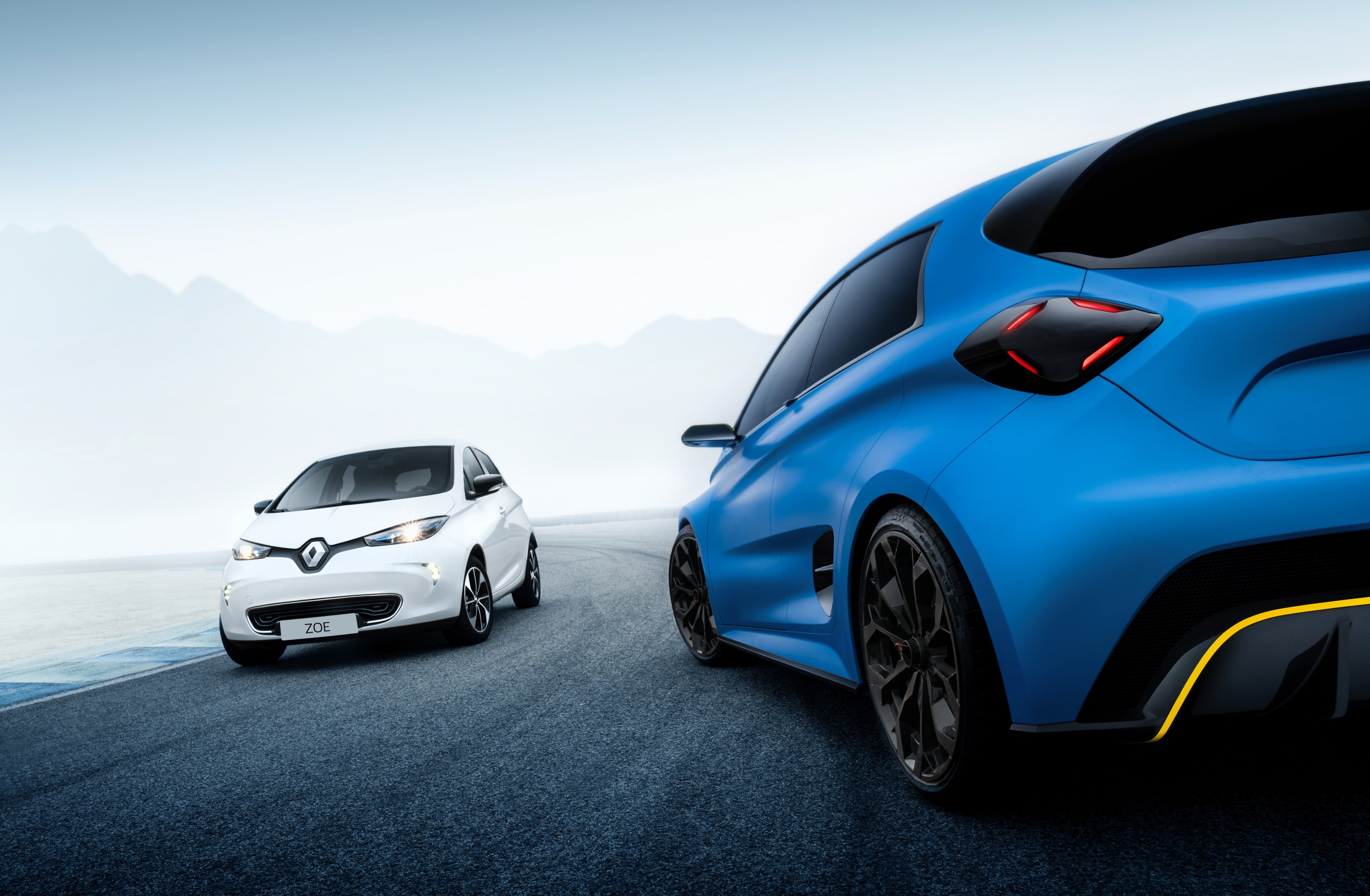 Renault ZOE e-Sport Concept - 2017 - side by side