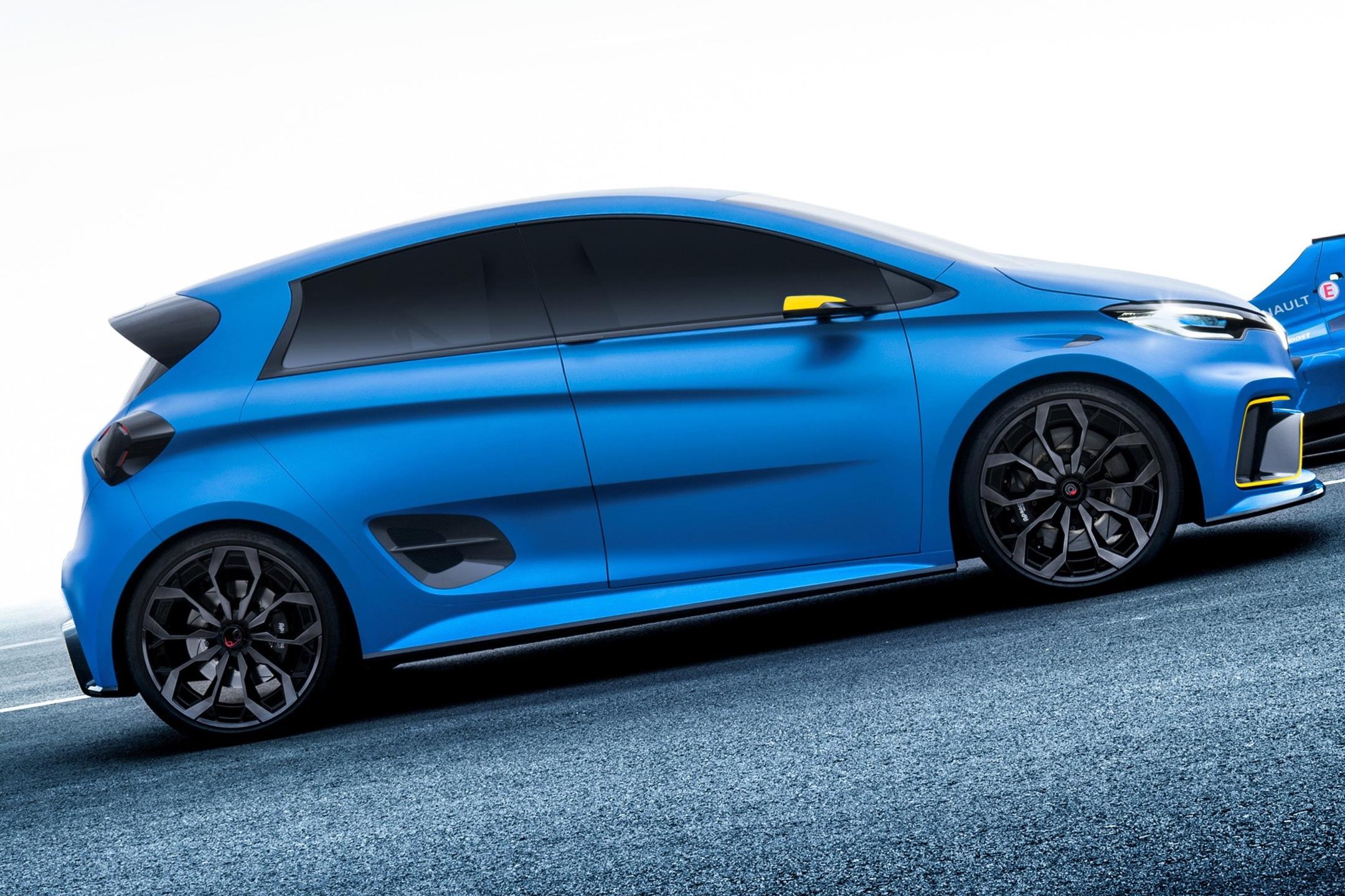 Renault ZOE e-Sport Concept - 2017 - wheel