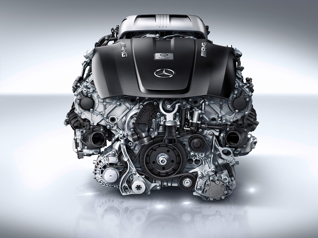 Moteur V8 4.0 litres biturbo – M178 – Mercedes-Benz AMG
