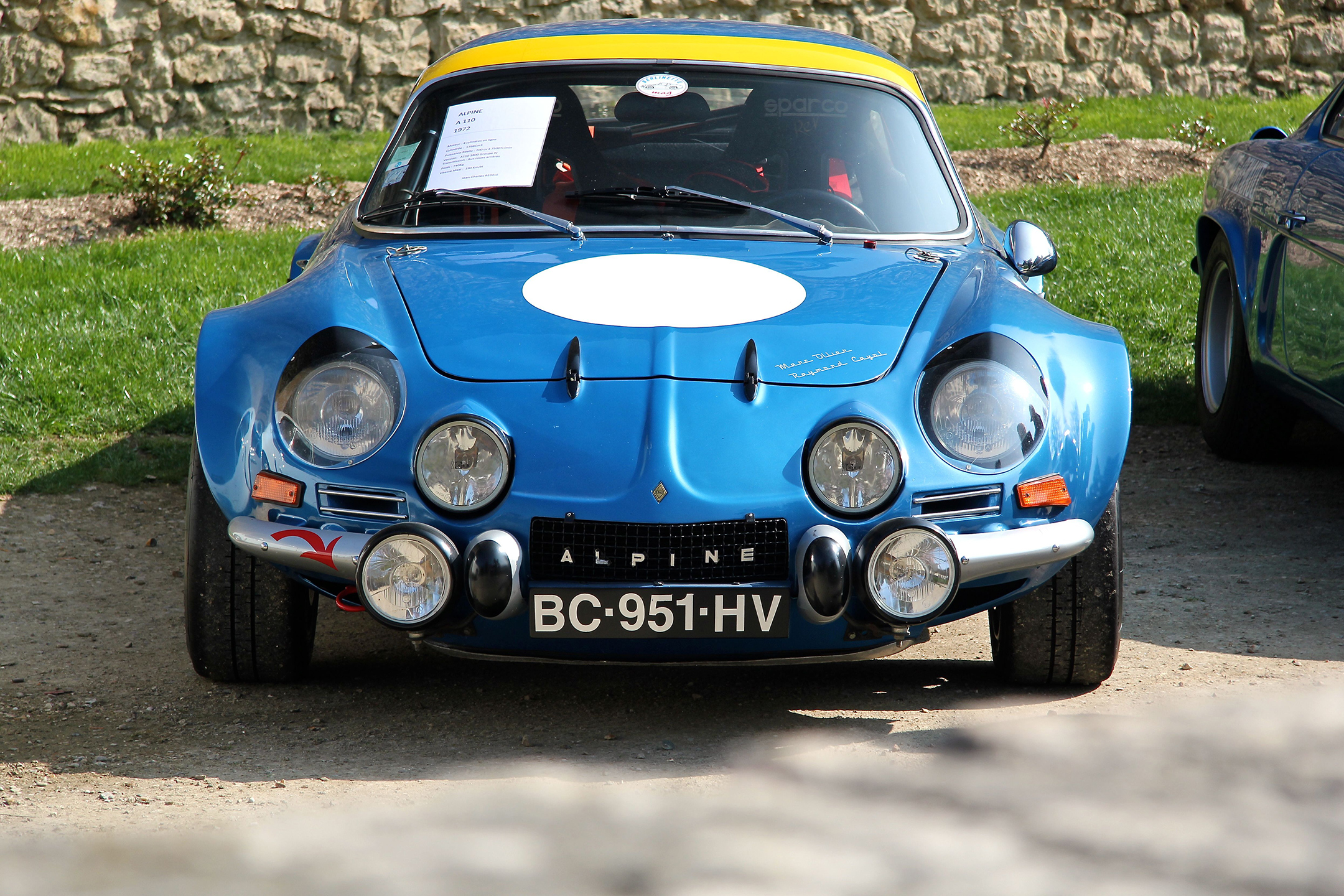 Alpine A110 - salon collection exception 2017 - photo Ludo Ferrari