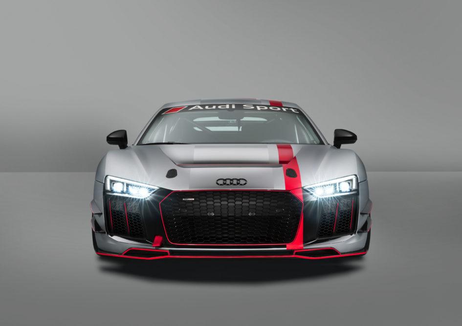 Audi R8 LMS GT4 - 2017 - front-face / face avant