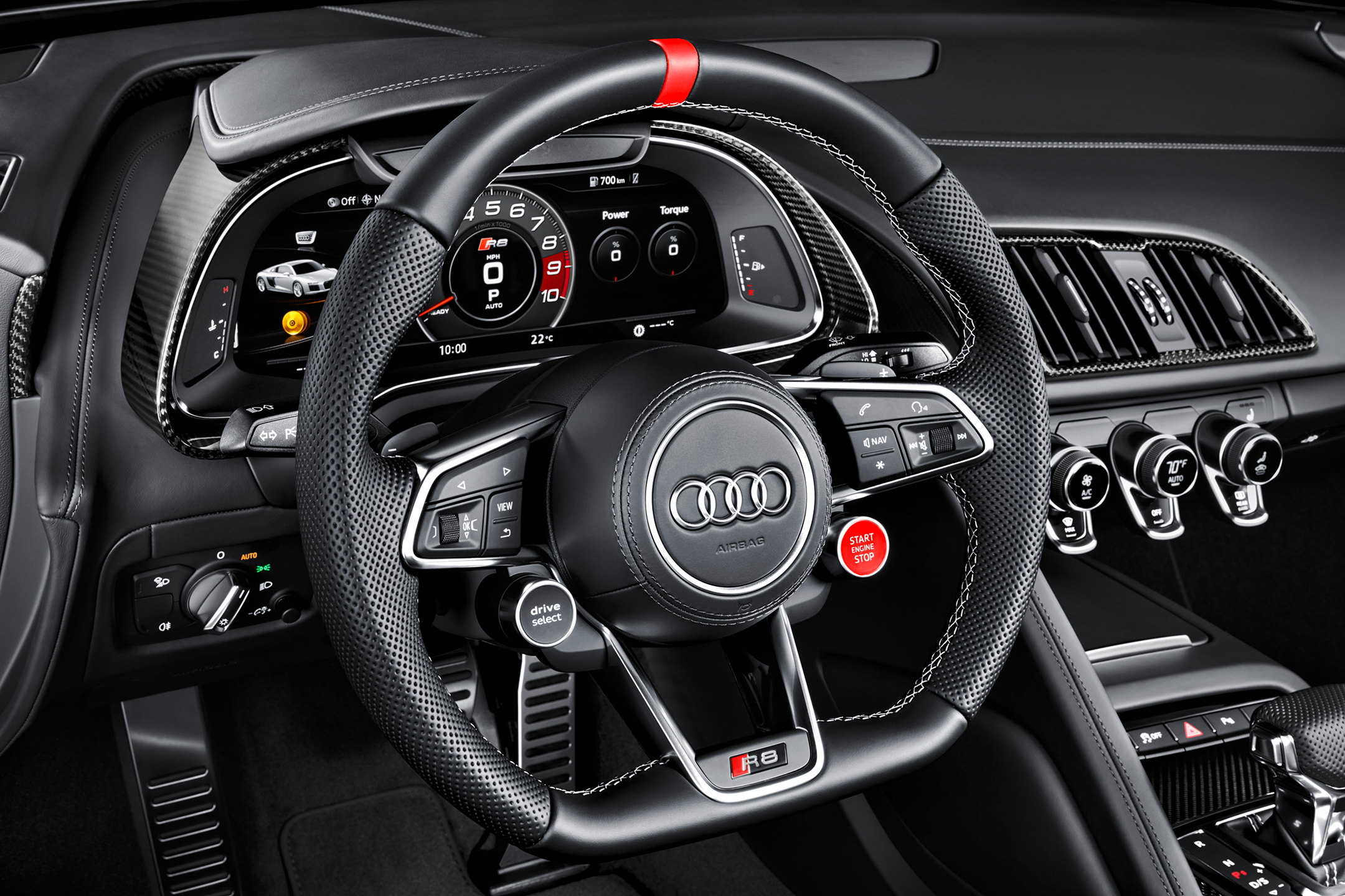 Audi R8 coupe Audi Sport Edition - 2017 - driving wheel / volant