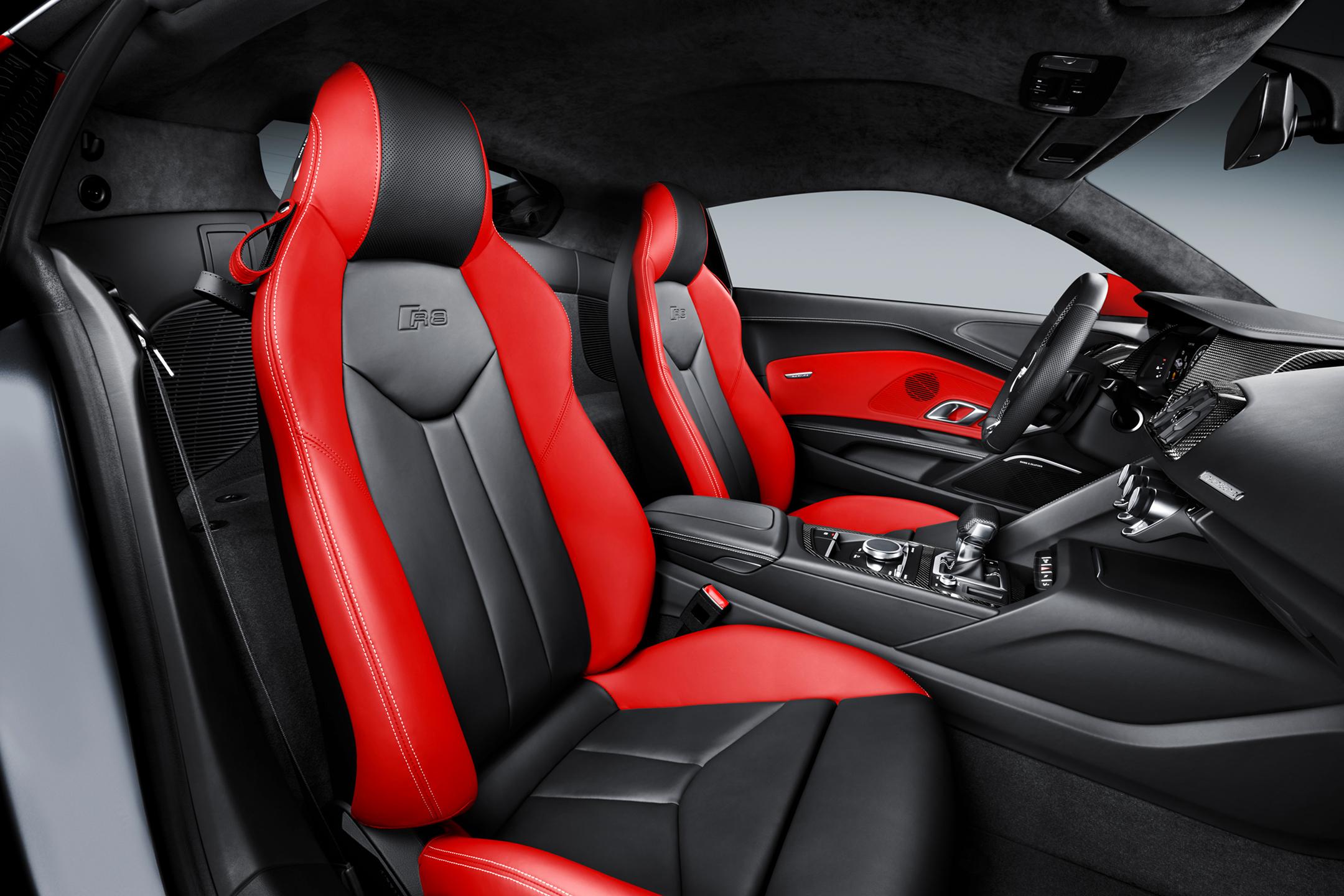Audi R8 coupe Audi Sport Edition - 2017 - seats / sièges