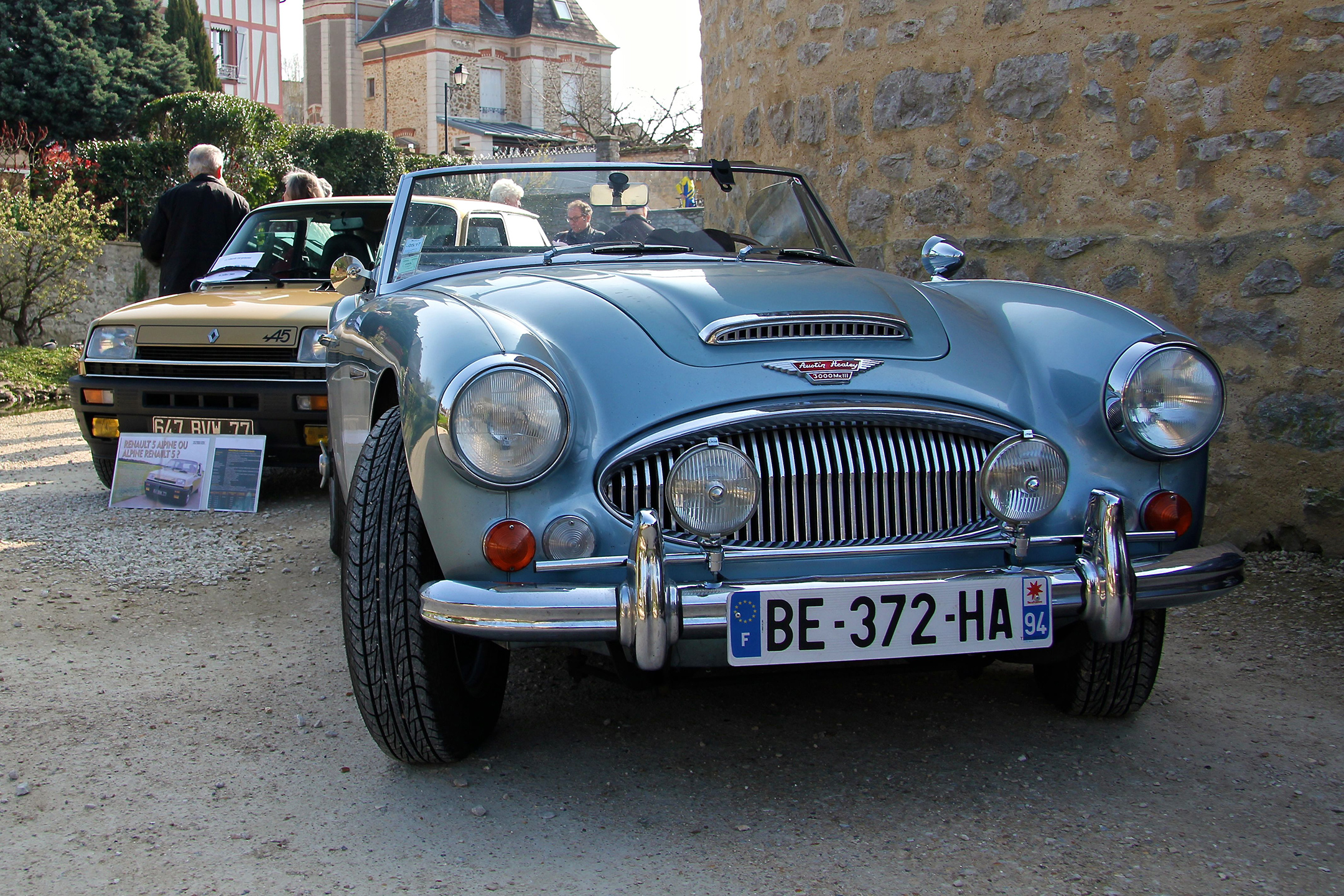 Austin Healey 300 - salon collection exception 2017 - photo Ludo Ferrari