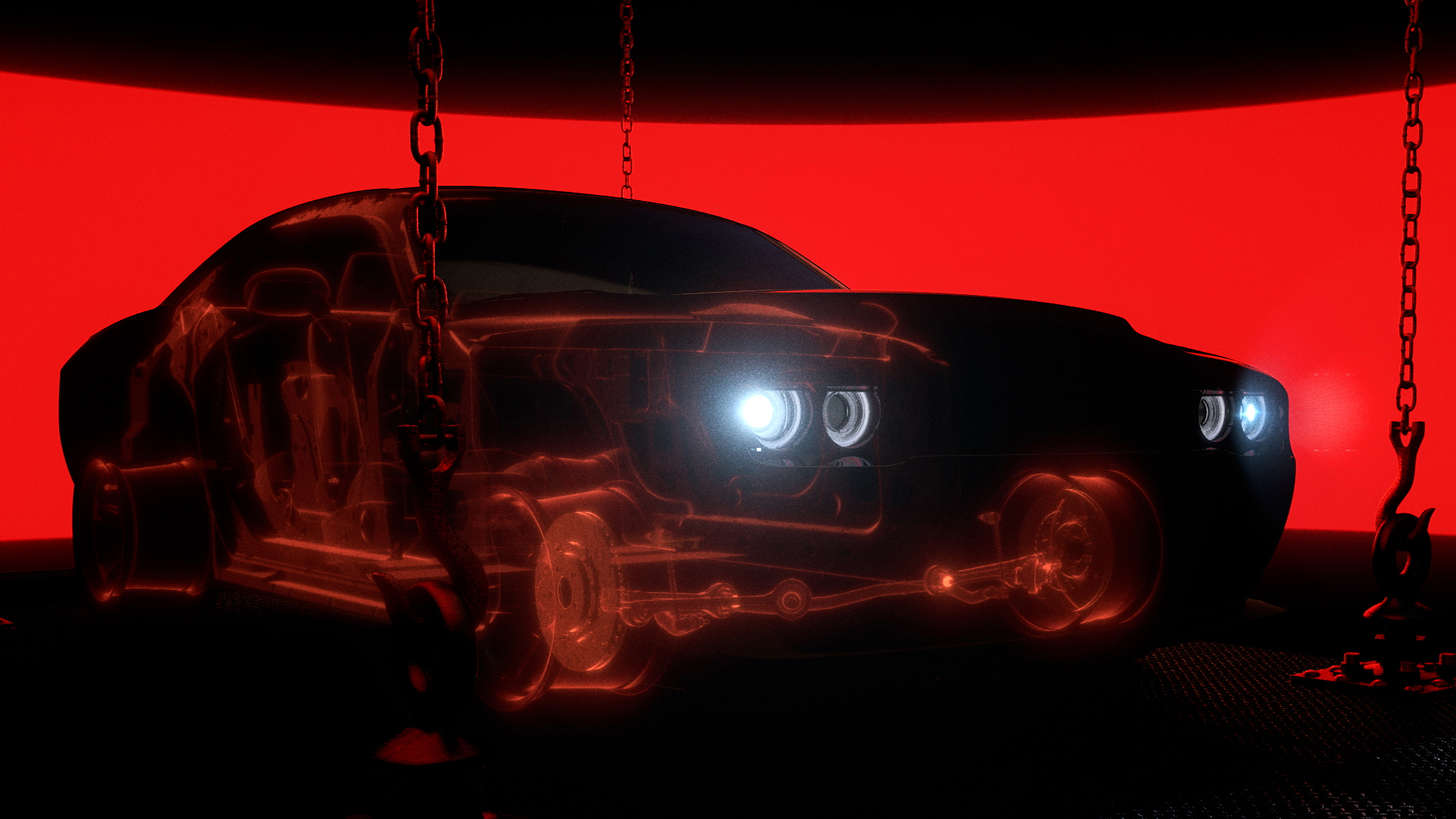 Dodge Challenger SRT-Demon - 2017 - chassis