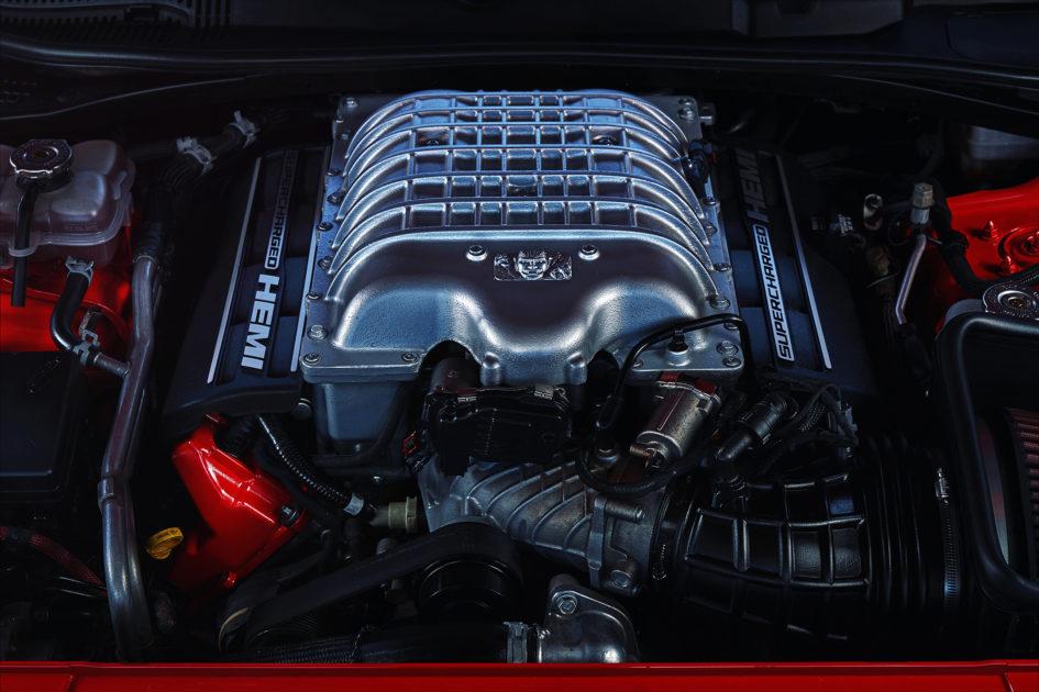 Dodge Challenger SRT-Demon - 2017 - engine